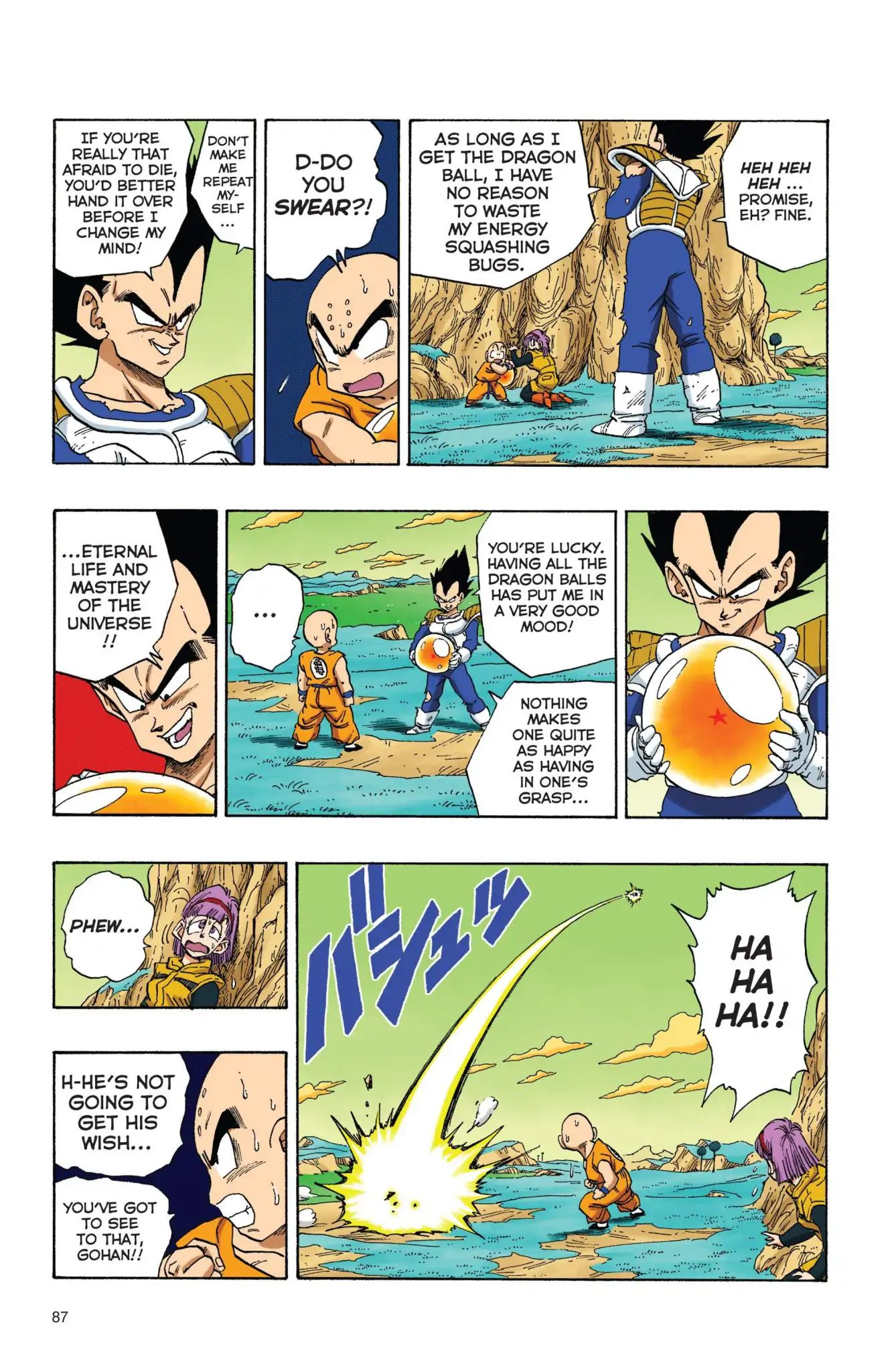 Dragon Ball Full Color Freeza Arc Chapter 23  Online Free Manga Read Image 14
