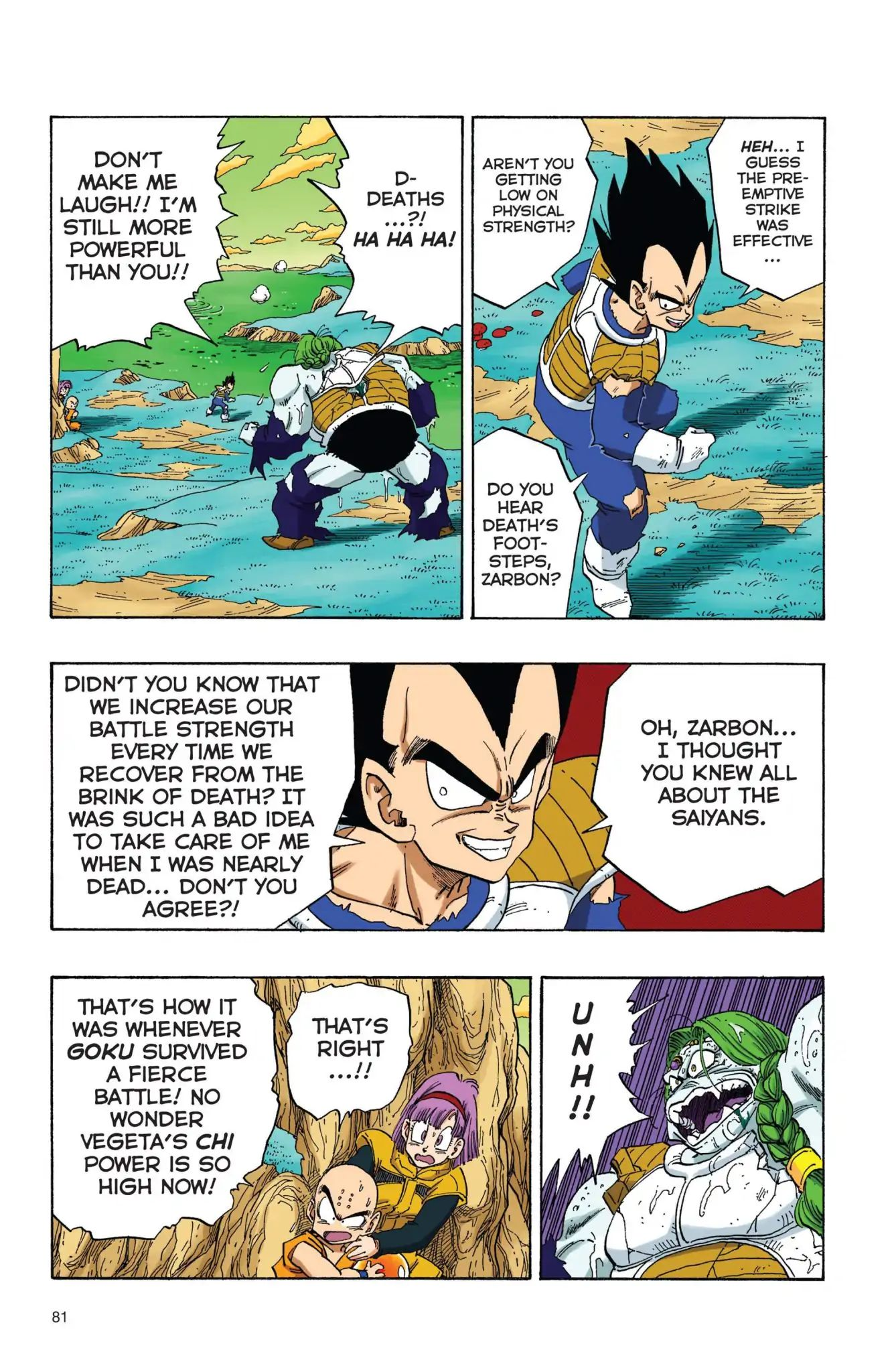 Dragon Ball Full Color Freeza Arc Chapter 23  Online Free Manga Read Image 8
