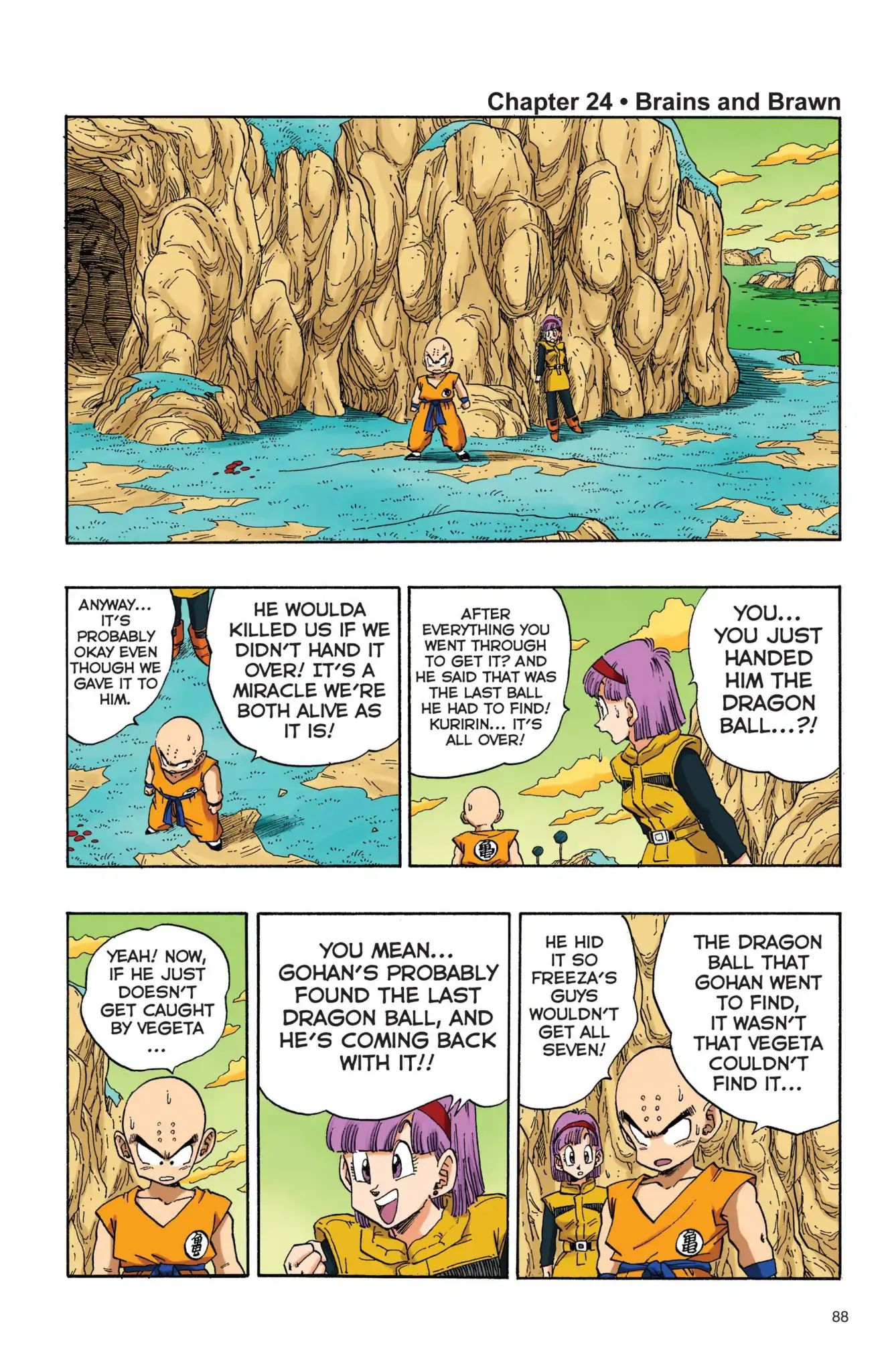 Dragon Ball Full Color Freeza Arc Chapter 24  Online Free Manga Read Image 1