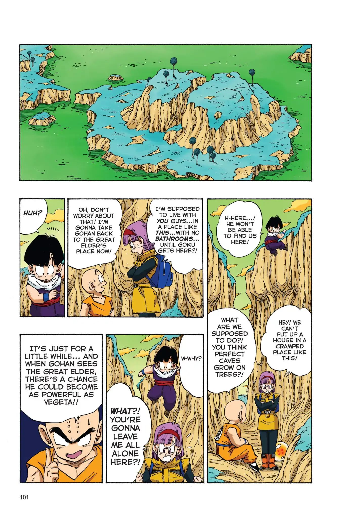 Dragon Ball Full Color Freeza Arc Chapter 24  Online Free Manga Read Image 14