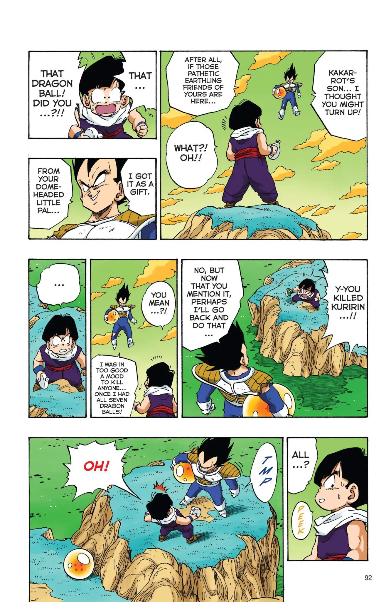 Dragon Ball Full Color Freeza Arc Chapter 24  Online Free Manga Read Image 5