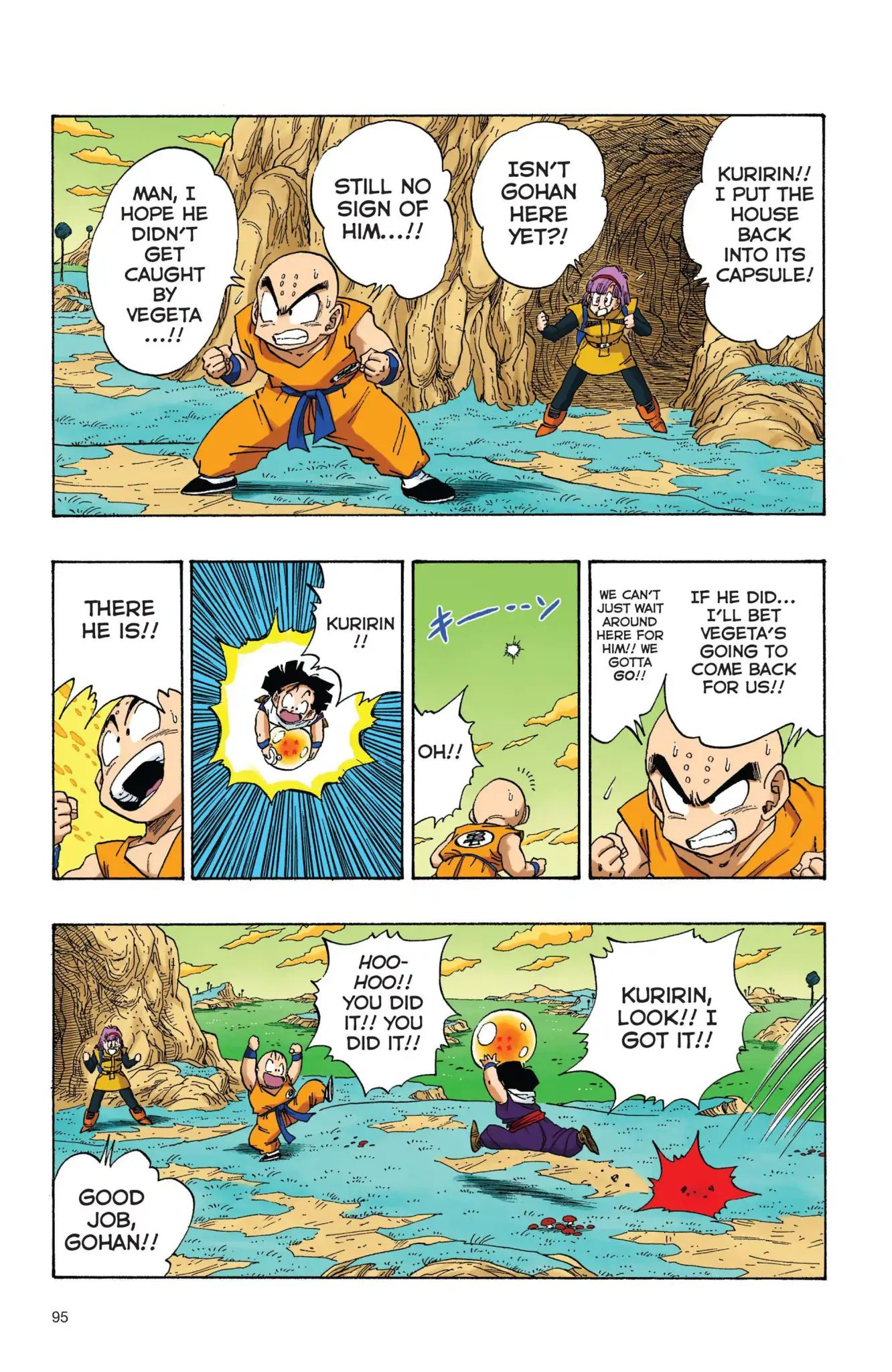 Dragon Ball Full Color Freeza Arc Chapter 24  Online Free Manga Read Image 8