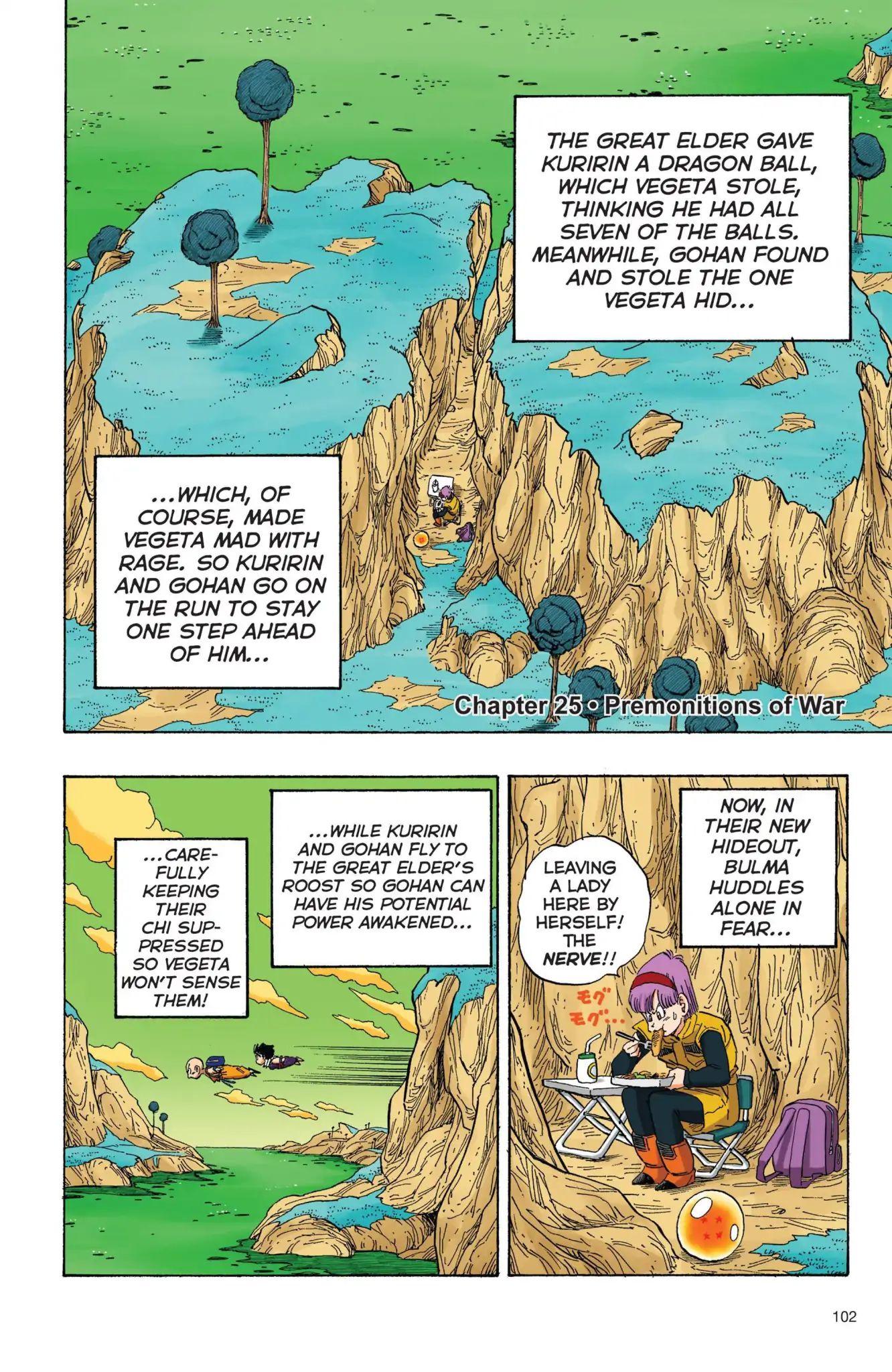 Dragon Ball Full Color Freeza Arc Chapter 25  Online Free Manga Read Image 1