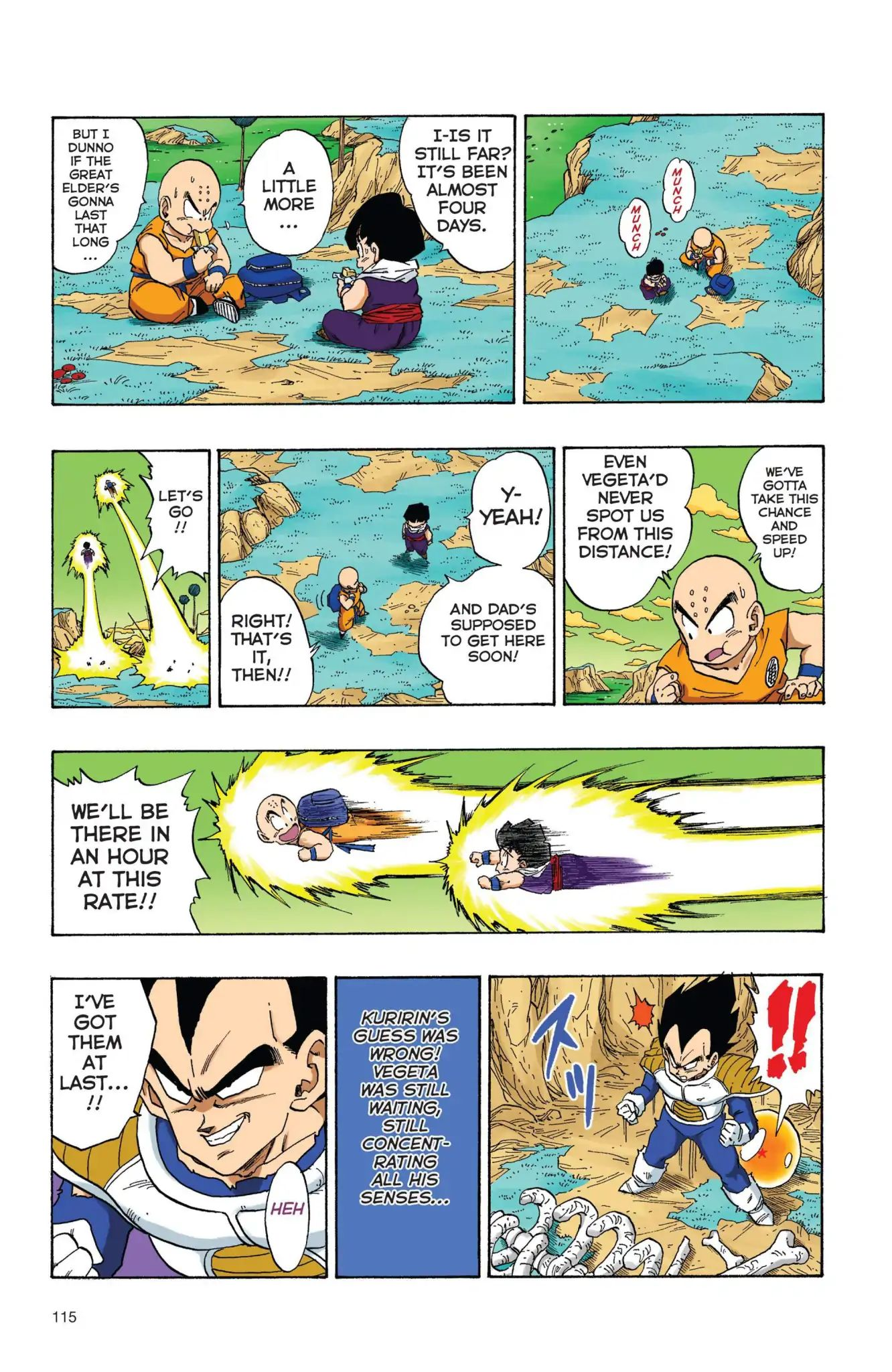 Dragon Ball Full Color Freeza Arc Chapter 25  Online Free Manga Read Image 14