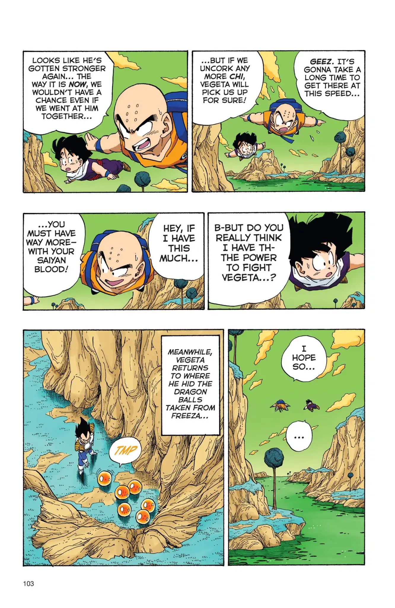Dragon Ball Full Color Freeza Arc Chapter 25  Online Free Manga Read Image 2