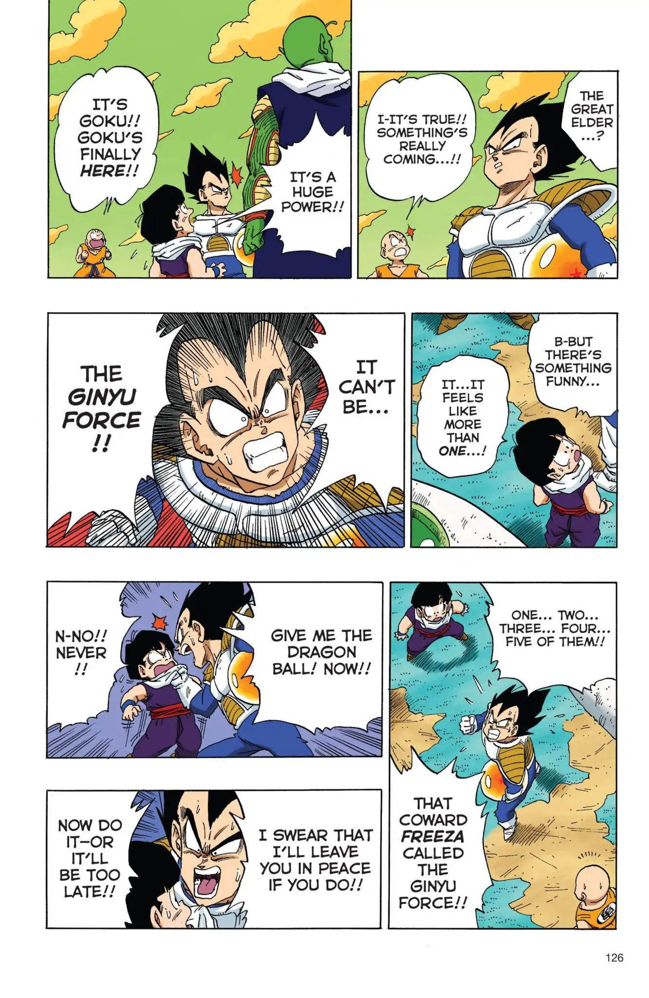 Dragon Ball Full Color Freeza Arc Chapter 26  Online Free Manga Read Image 11