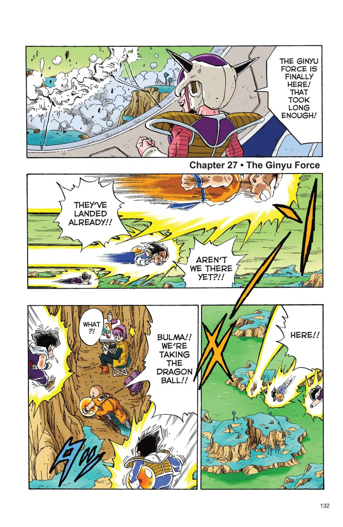 Dragon Ball Full Color Freeza Arc Chapter 27  Online Free Manga Read Image 2