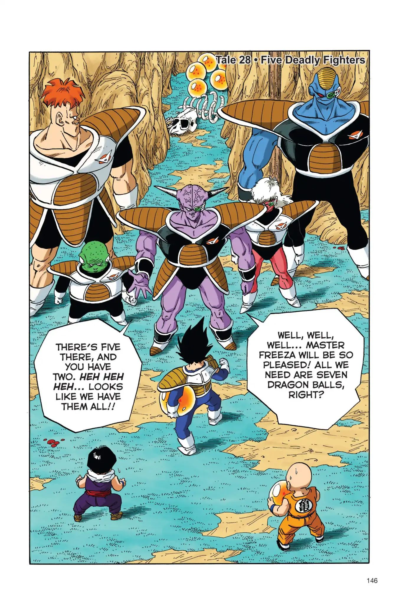 Dragon Ball Full Color Freeza Arc Chapter 28  Online Free Manga Read Image 1