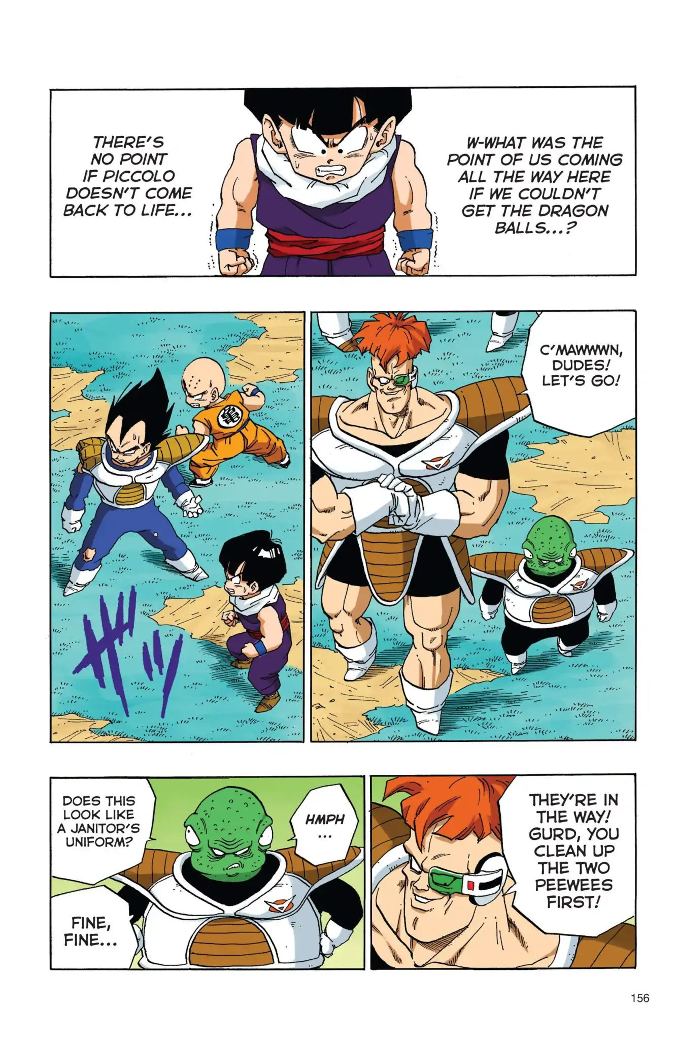 Dragon Ball Full Color Freeza Arc Chapter 28  Online Free Manga Read Image 11