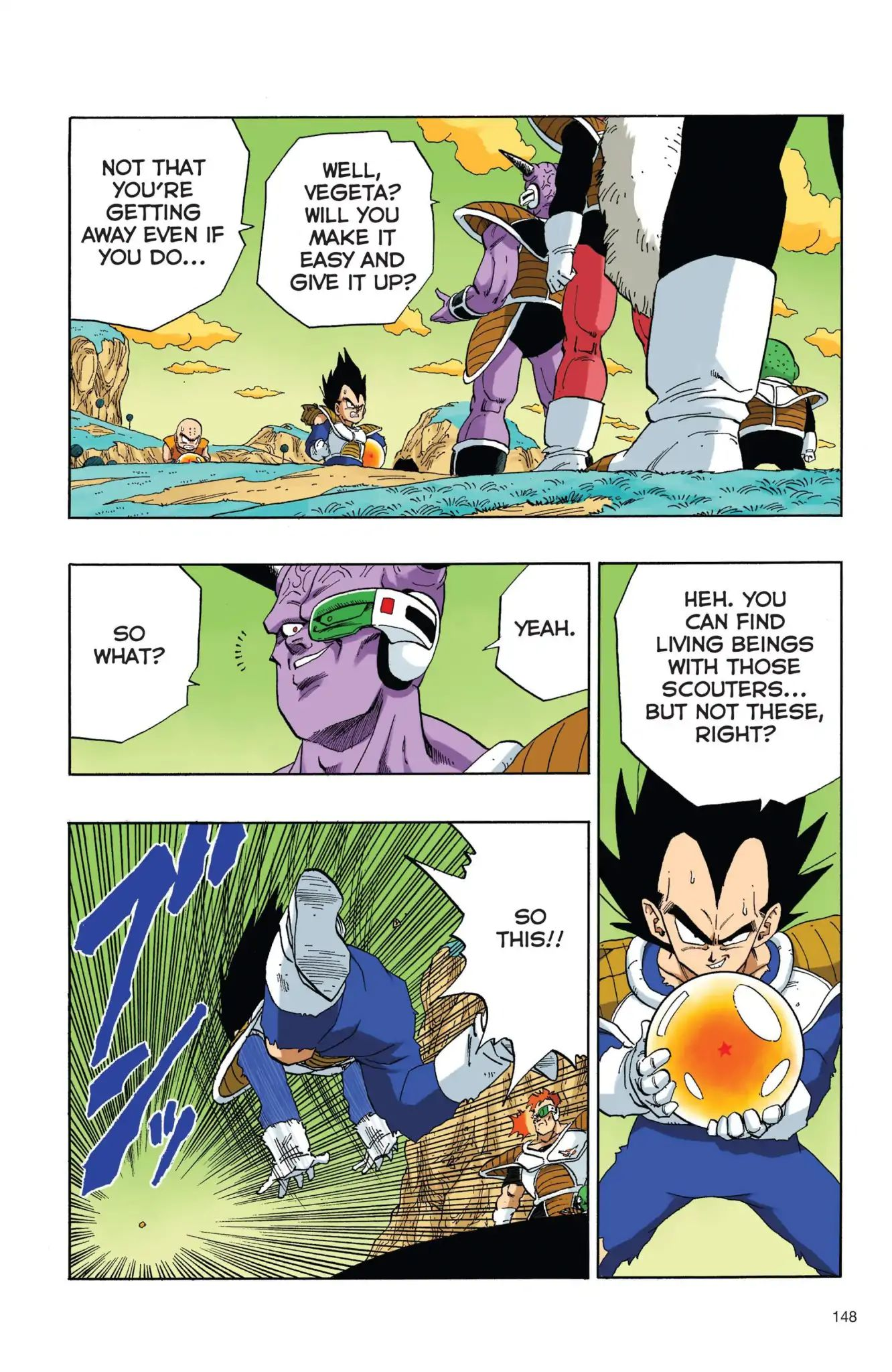 Dragon Ball Full Color Freeza Arc Chapter 28  Online Free Manga Read Image 3