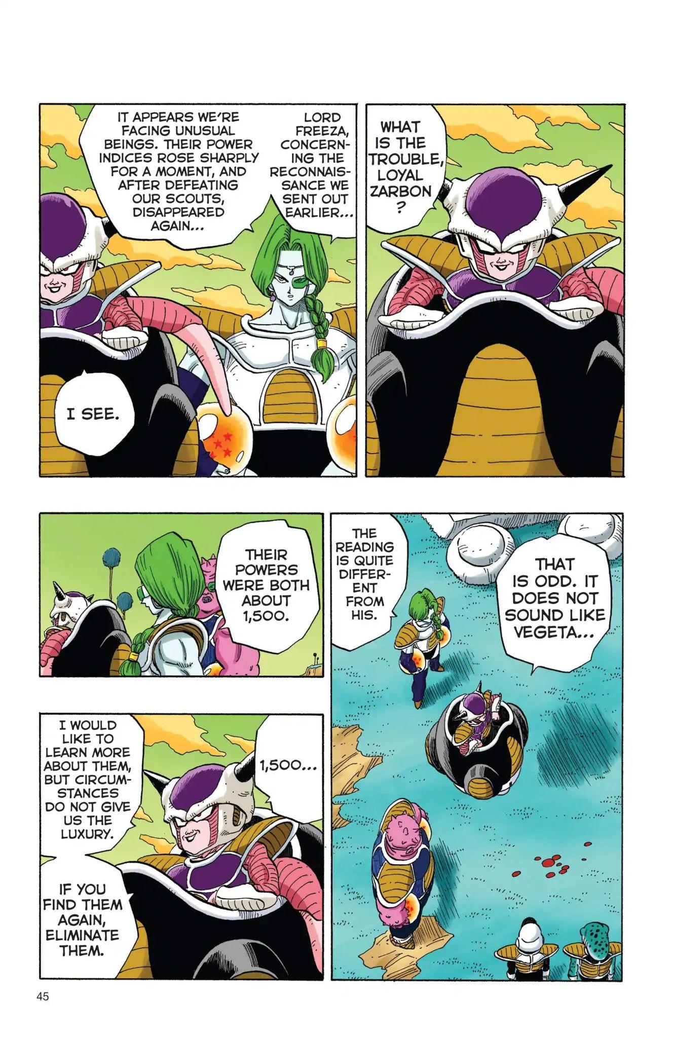 Dragon Ball Full Color Freeza Arc Chapter 3  Online Free Manga Read Image 12