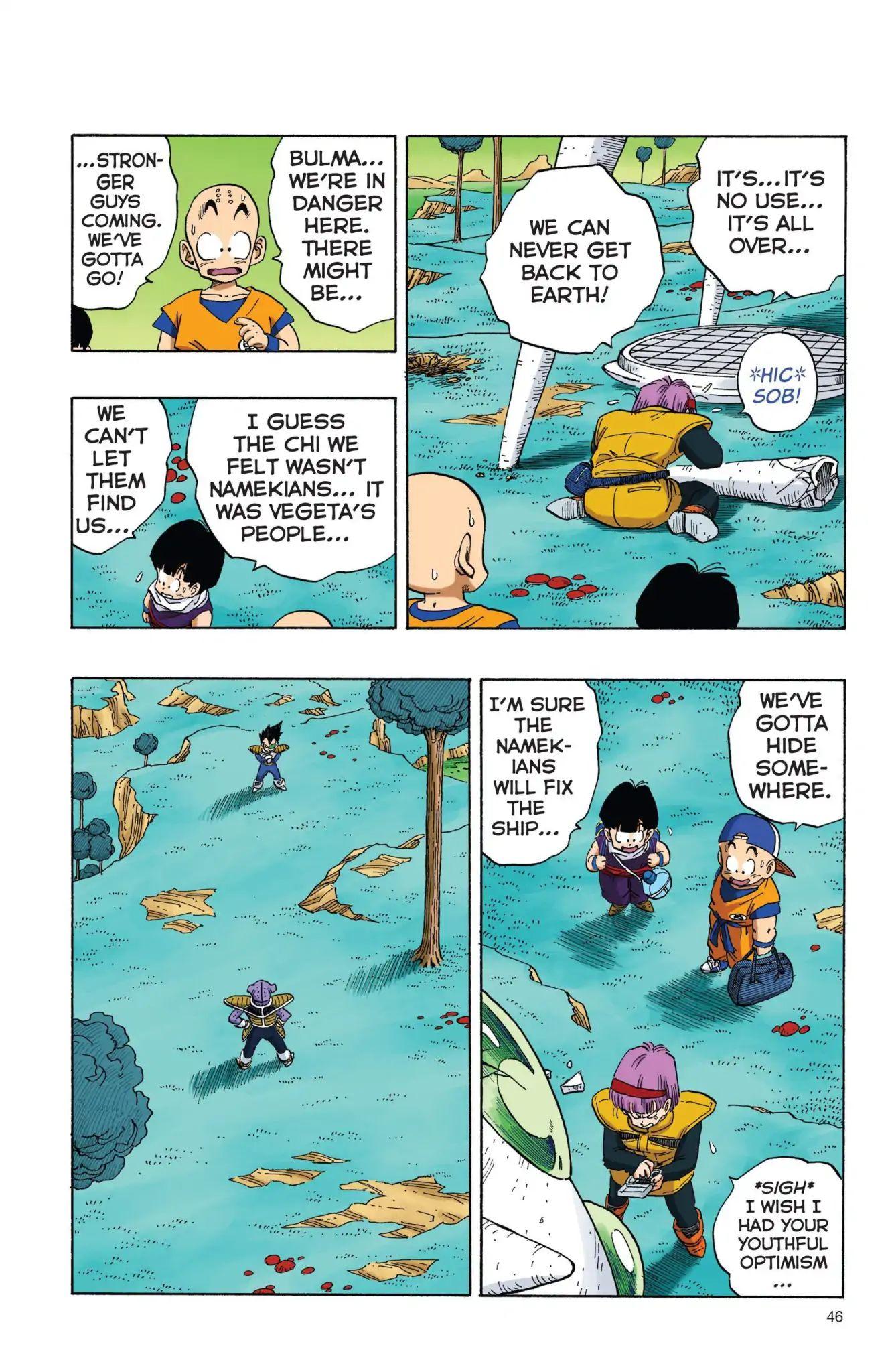 Dragon Ball Full Color Freeza Arc Chapter 3  Online Free Manga Read Image 13