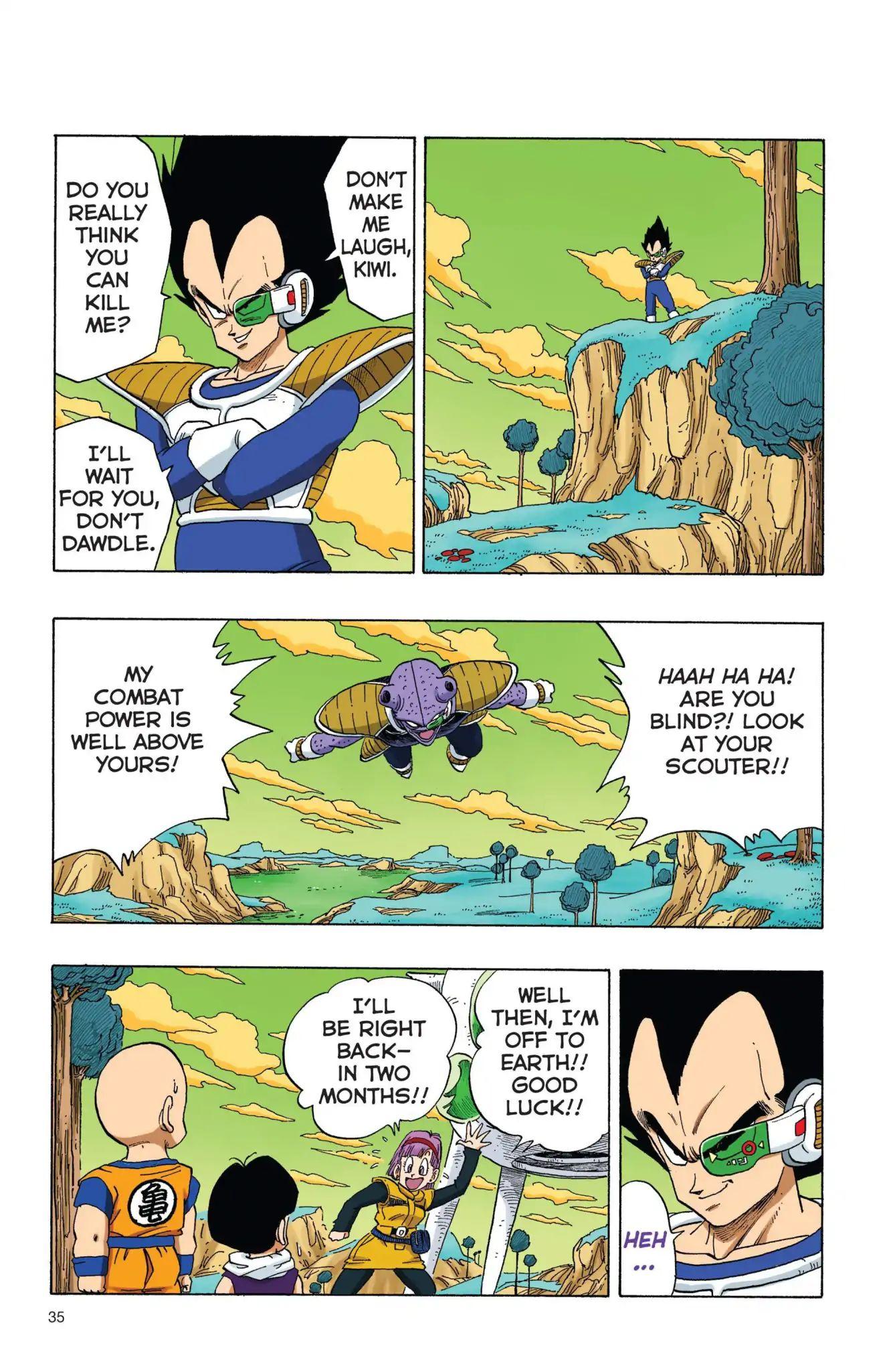 Dragon Ball Full Color Freeza Arc Chapter 3  Online Free Manga Read Image 2