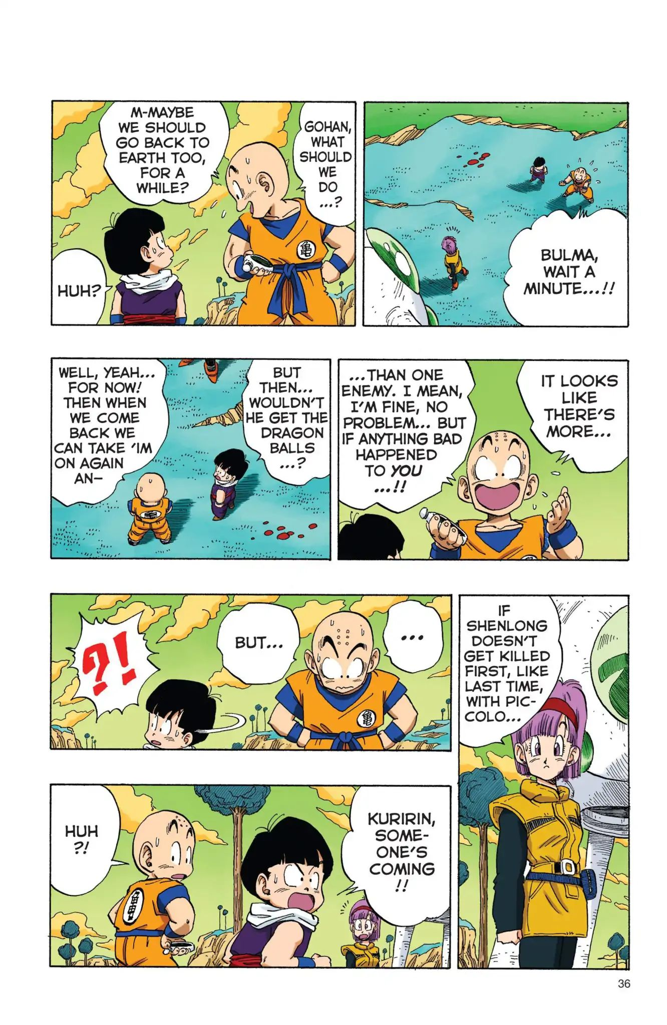 Dragon Ball Full Color Freeza Arc Chapter 3  Online Free Manga Read Image 3