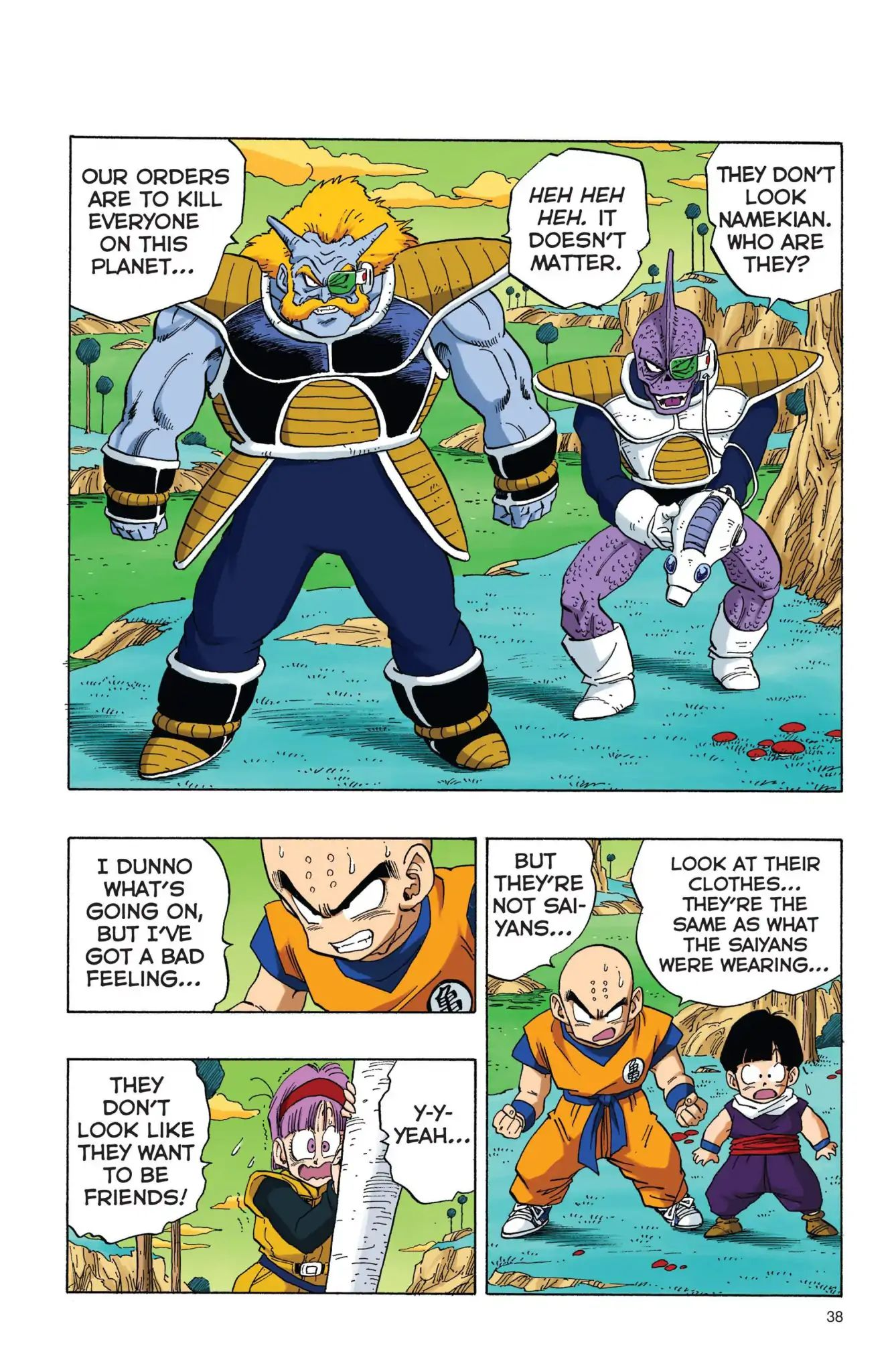 Dragon Ball Full Color Freeza Arc Chapter 3  Online Free Manga Read Image 5