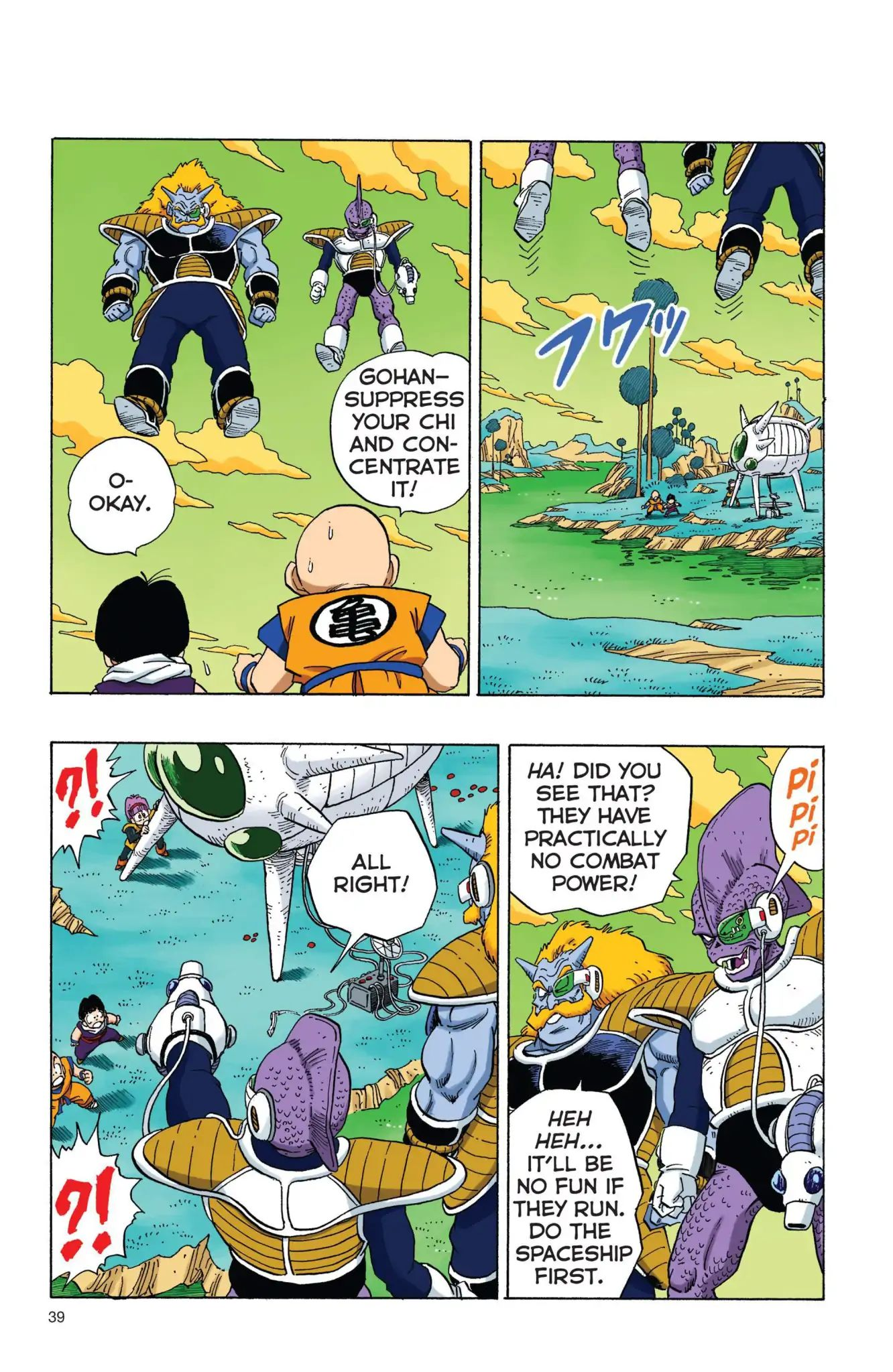 Dragon Ball Full Color Freeza Arc Chapter 3  Online Free Manga Read Image 6