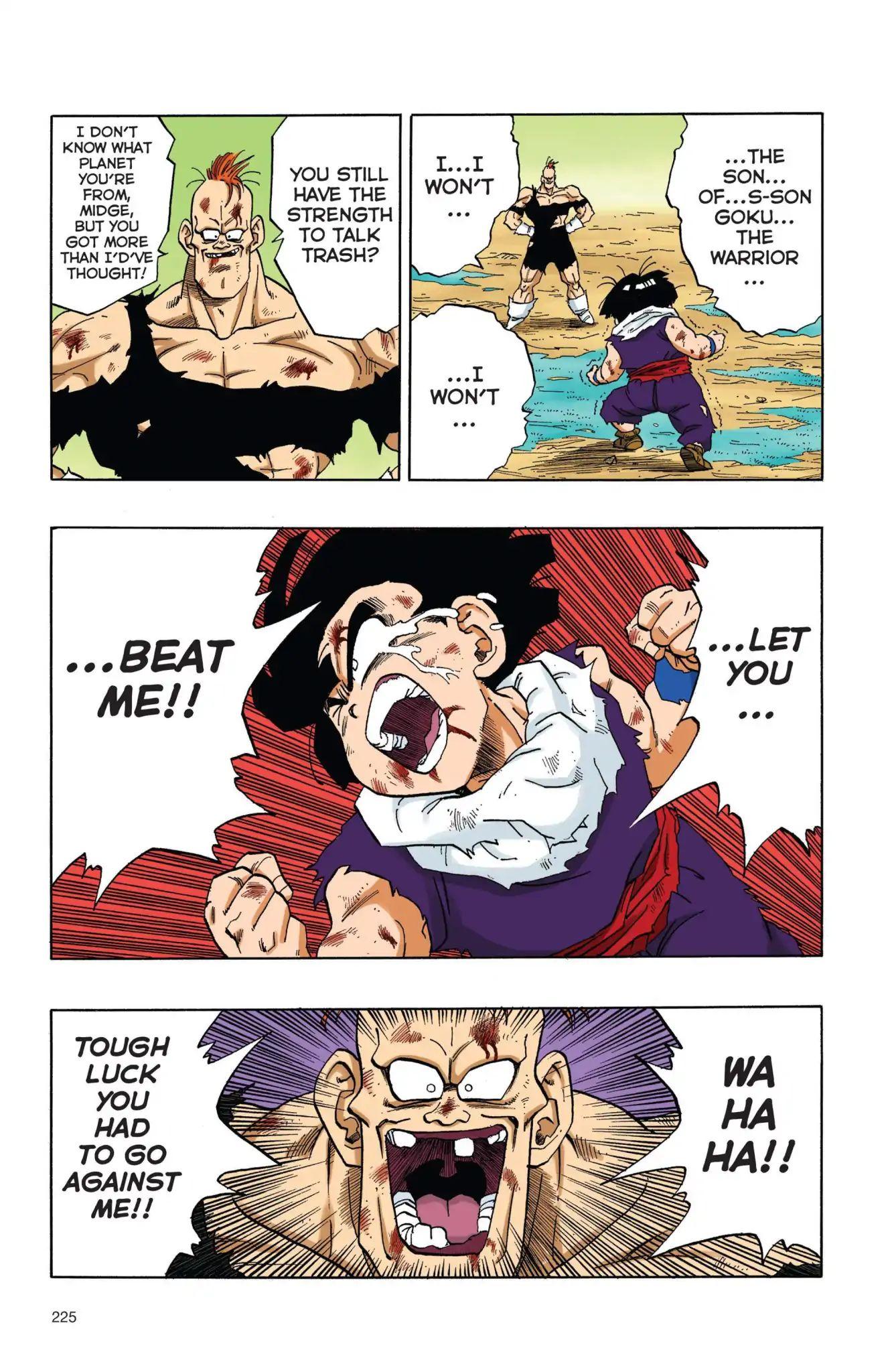 Dragon Ball Full Color Freeza Arc Chapter 33  Online Free Manga Read Image 10