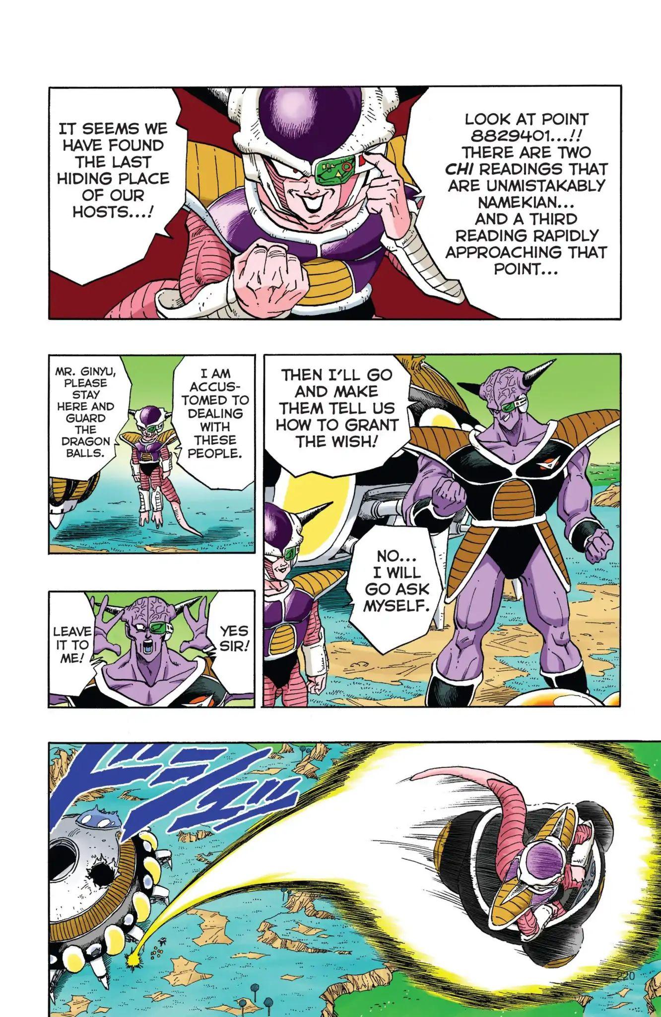 Dragon Ball Full Color Freeza Arc Chapter 33  Online Free Manga Read Image 5