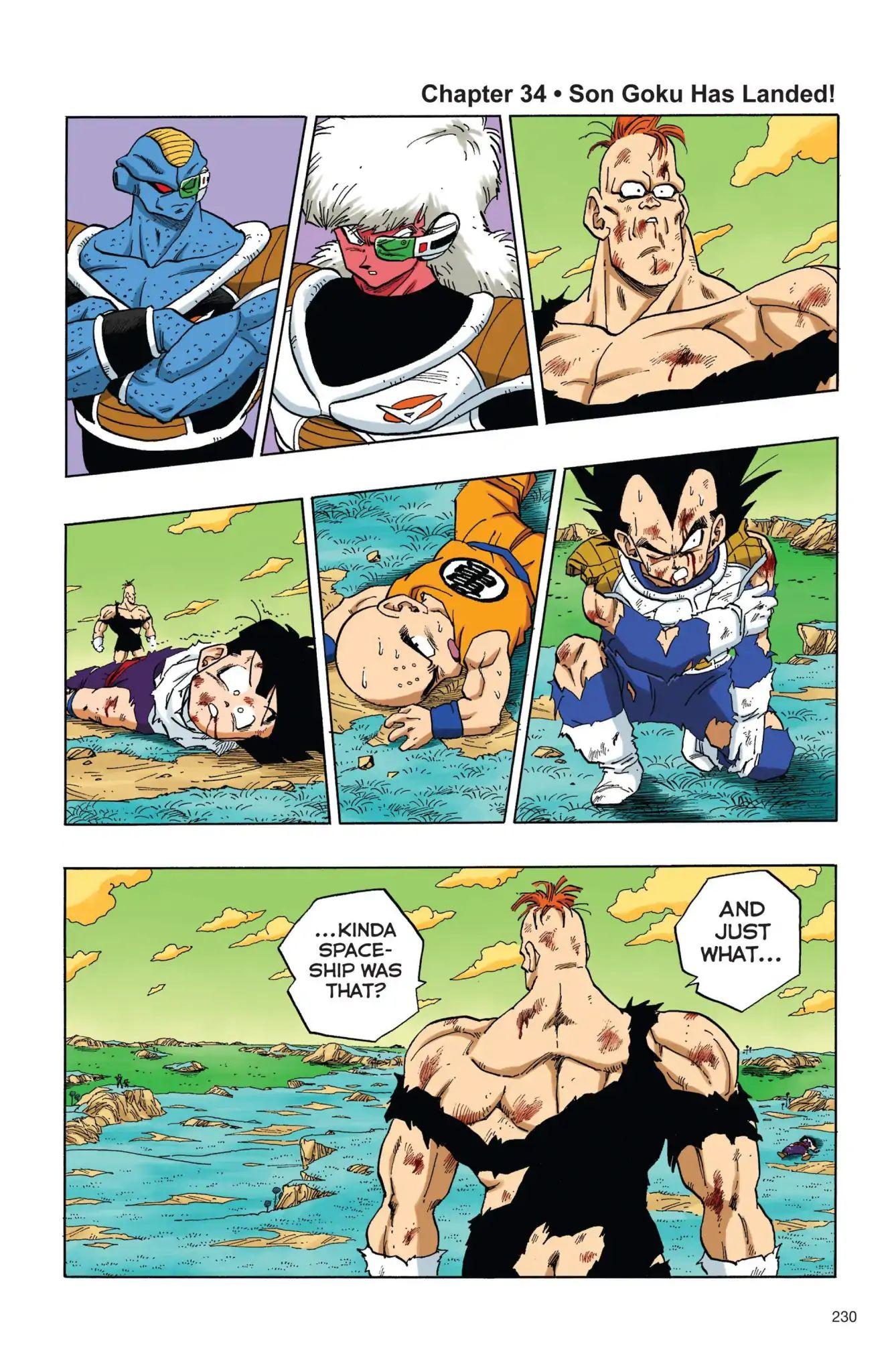 Dragon Ball Full Color Freeza Arc Chapter 34  Online Free Manga Read Image 1