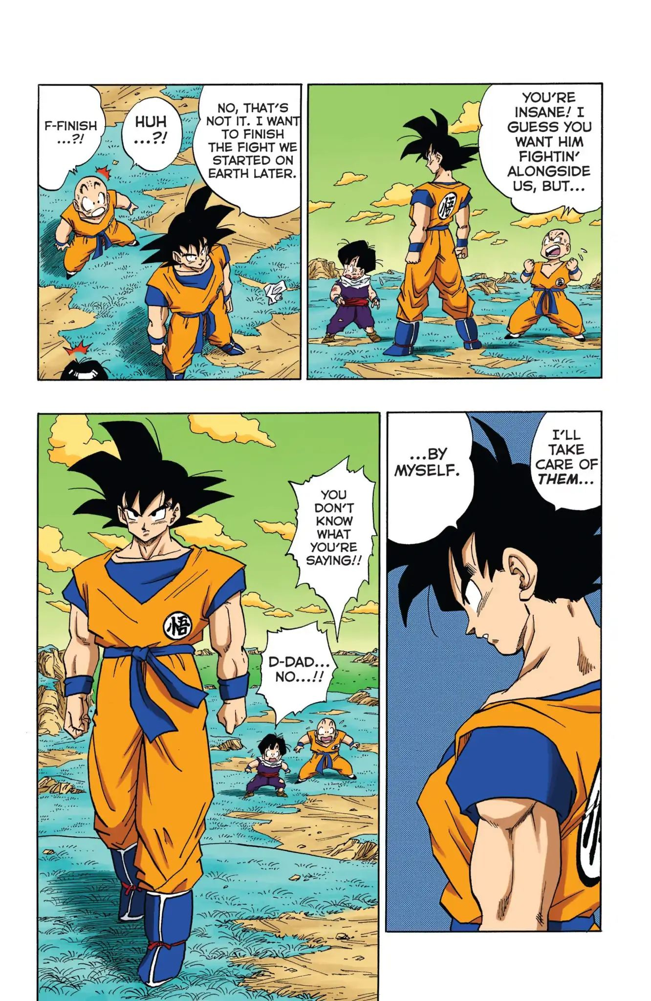 Dragon Ball Full Color Freeza Arc Chapter 34  Online Free Manga Read Image 12