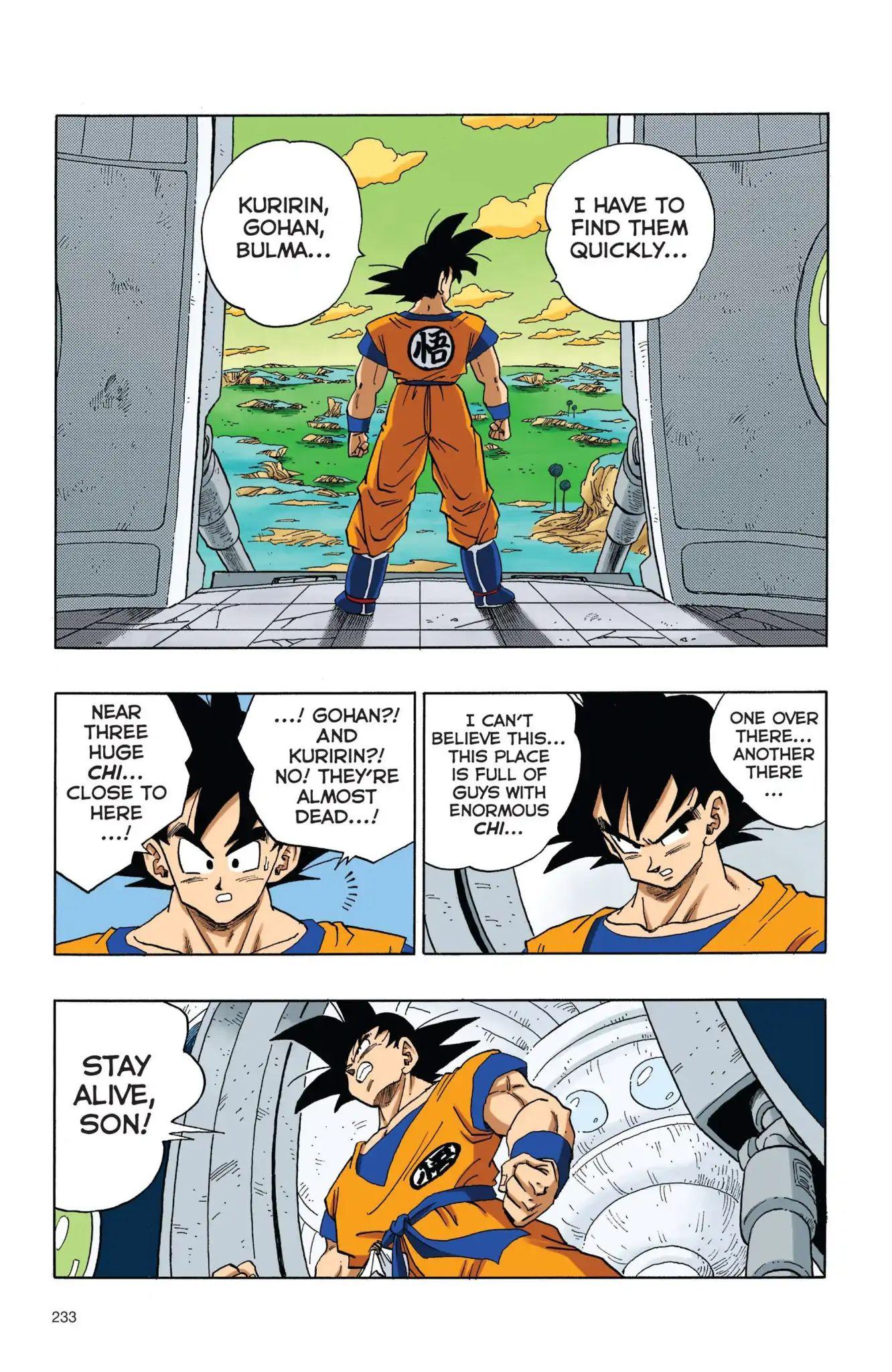 Dragon Ball Full Color Freeza Arc Chapter 34  Online Free Manga Read Image 4