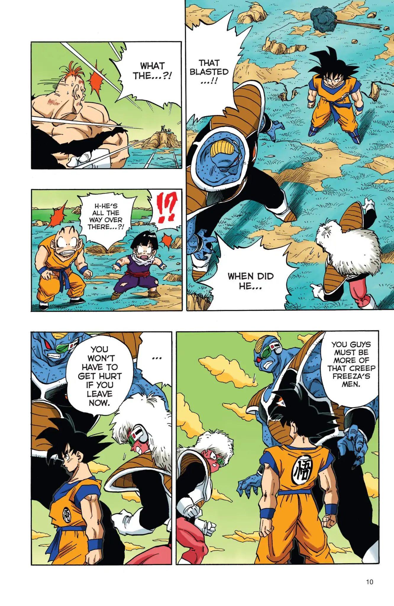 Dragon Ball Full Color Freeza Arc Chapter 35  Online Free Manga Read Image 11