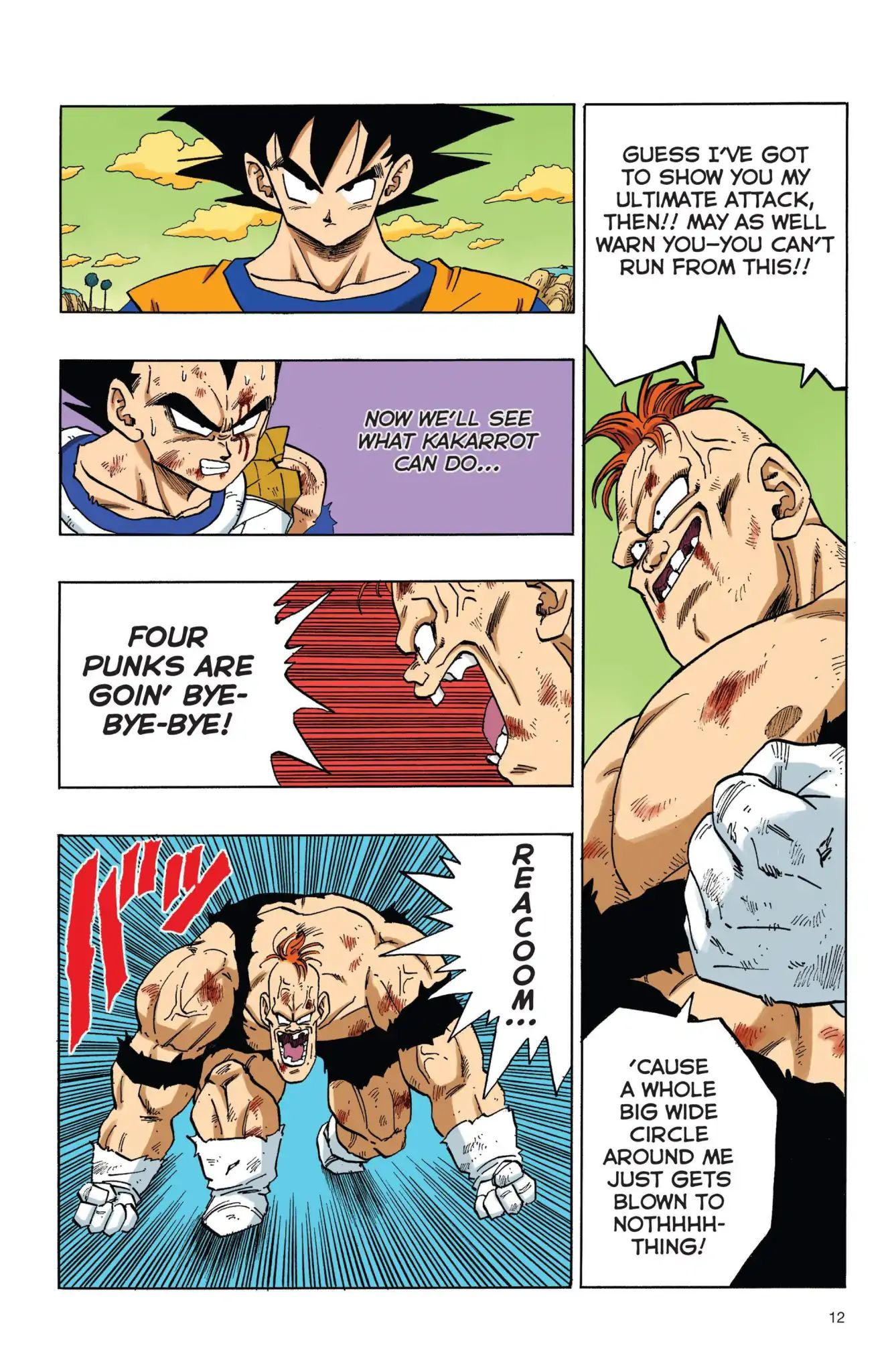 Dragon Ball Full Color Freeza Arc Chapter 35  Online Free Manga Read Image 13