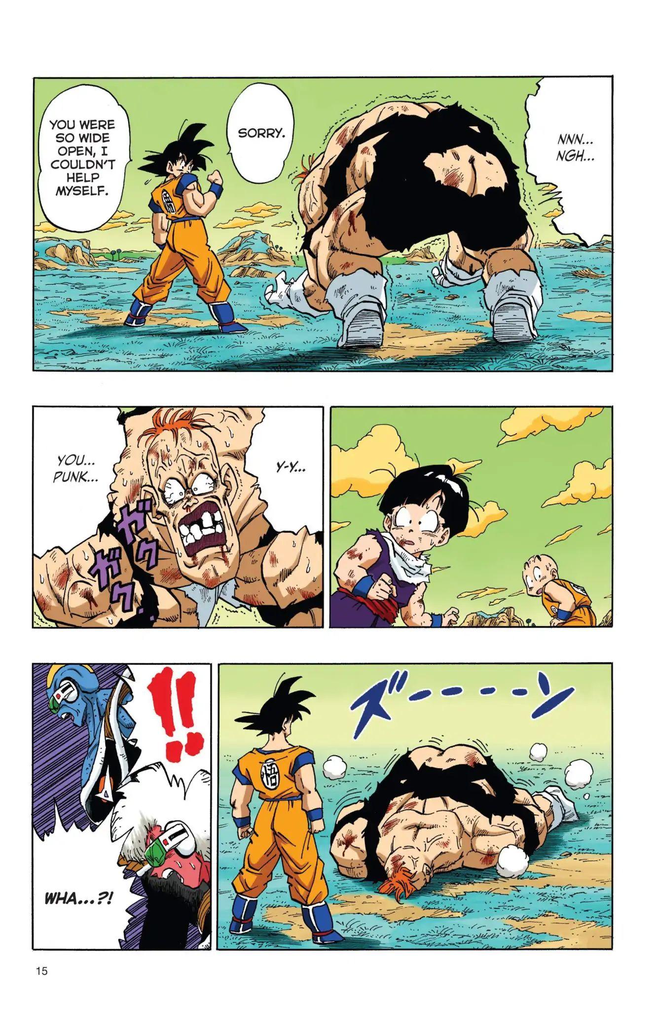 Dragon Ball Full Color Freeza Arc Chapter 35  Online Free Manga Read Image 16