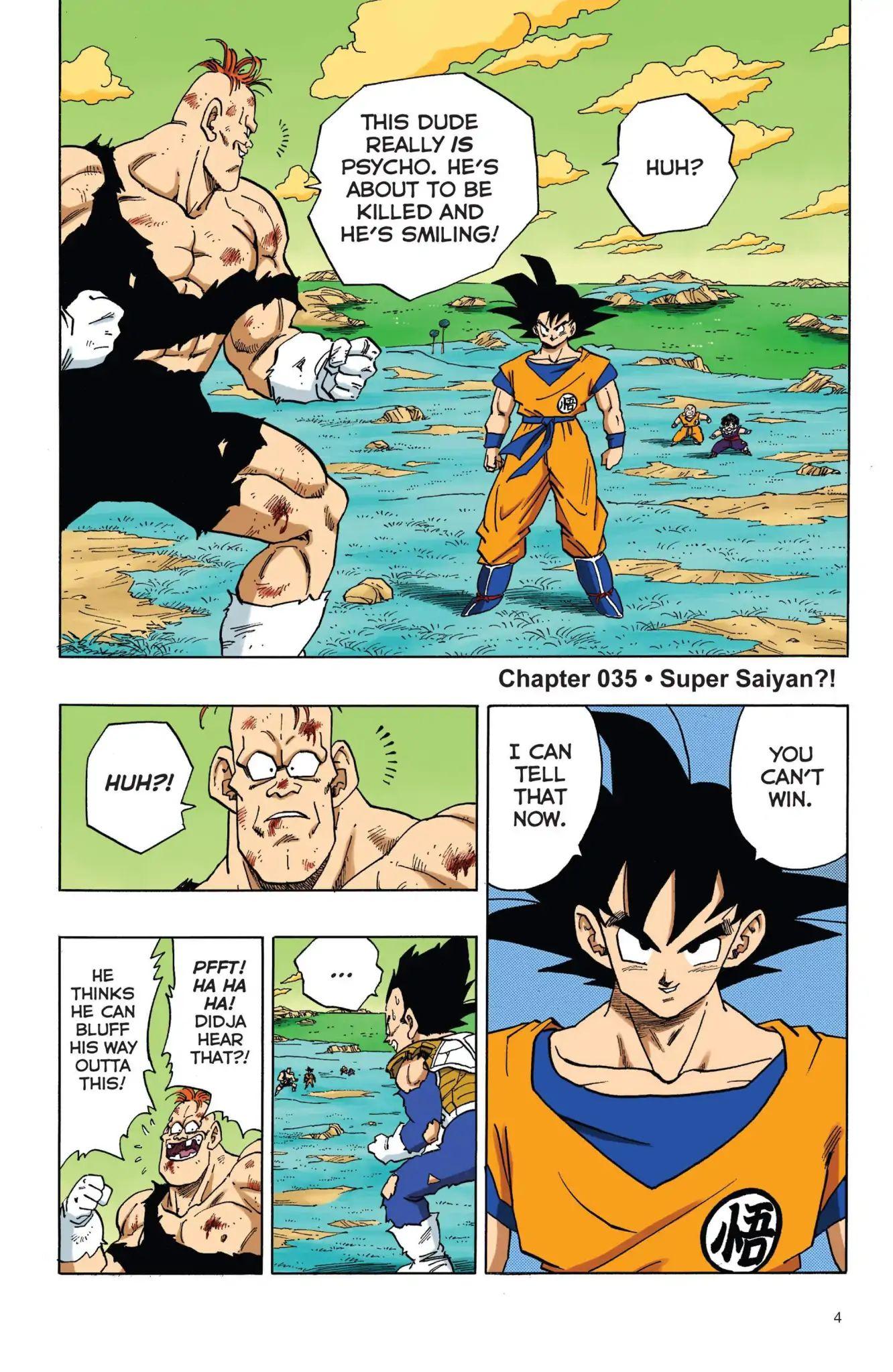 Dragon Ball Full Color Freeza Arc Chapter 35  Online Free Manga Read Image 5