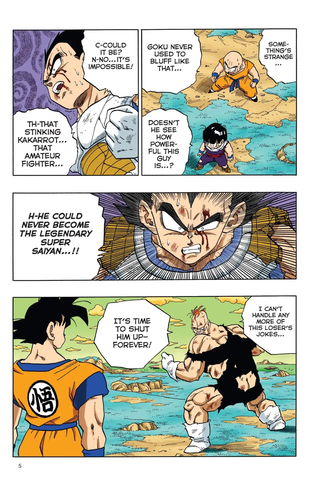 Dragon Ball Full Color Freeza Arc Chapter 35  Online Free Manga Read Image 6