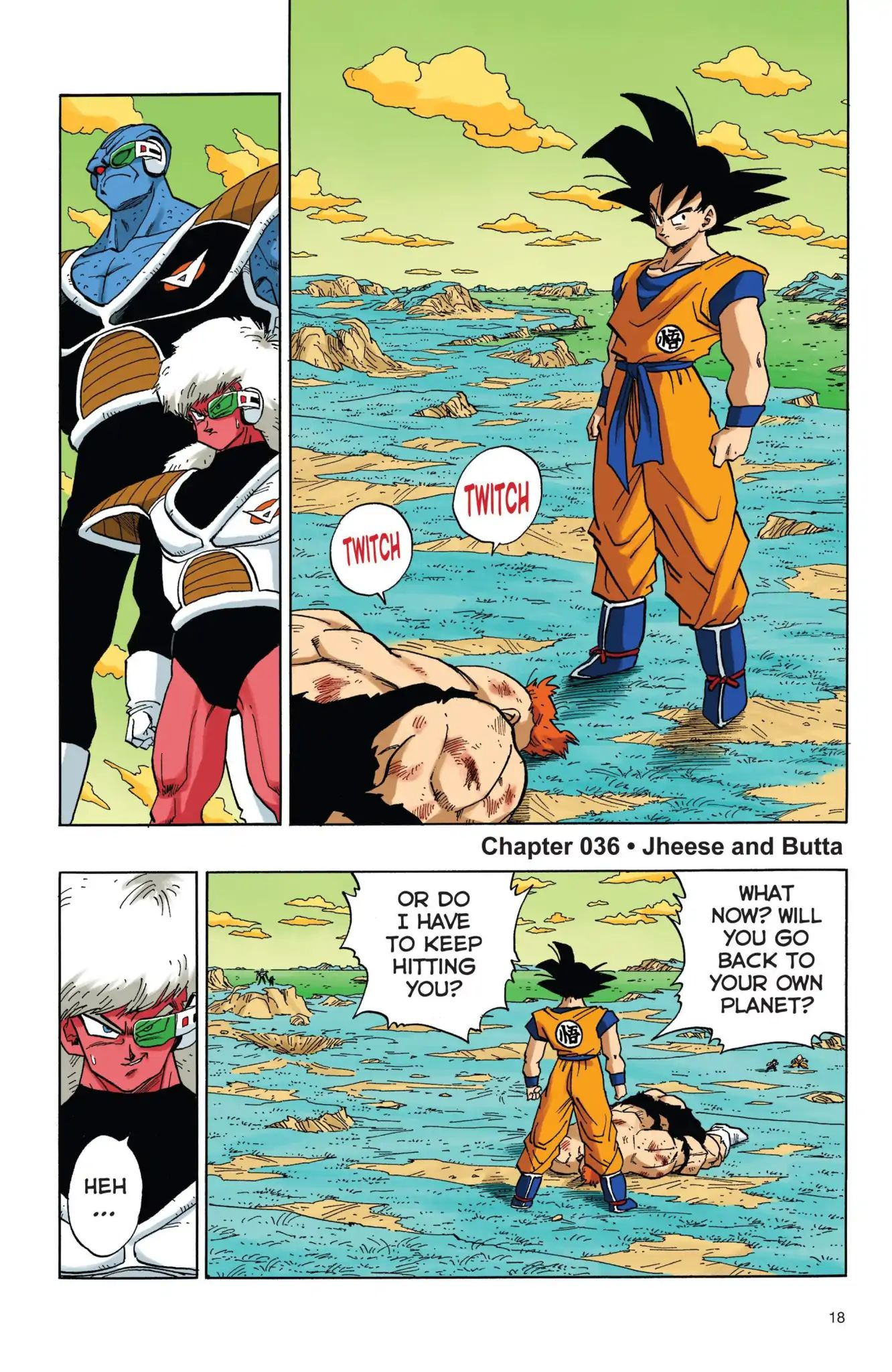 Dragon Ball Full Color Freeza Arc Chapter 36  Online Free Manga Read Image 1