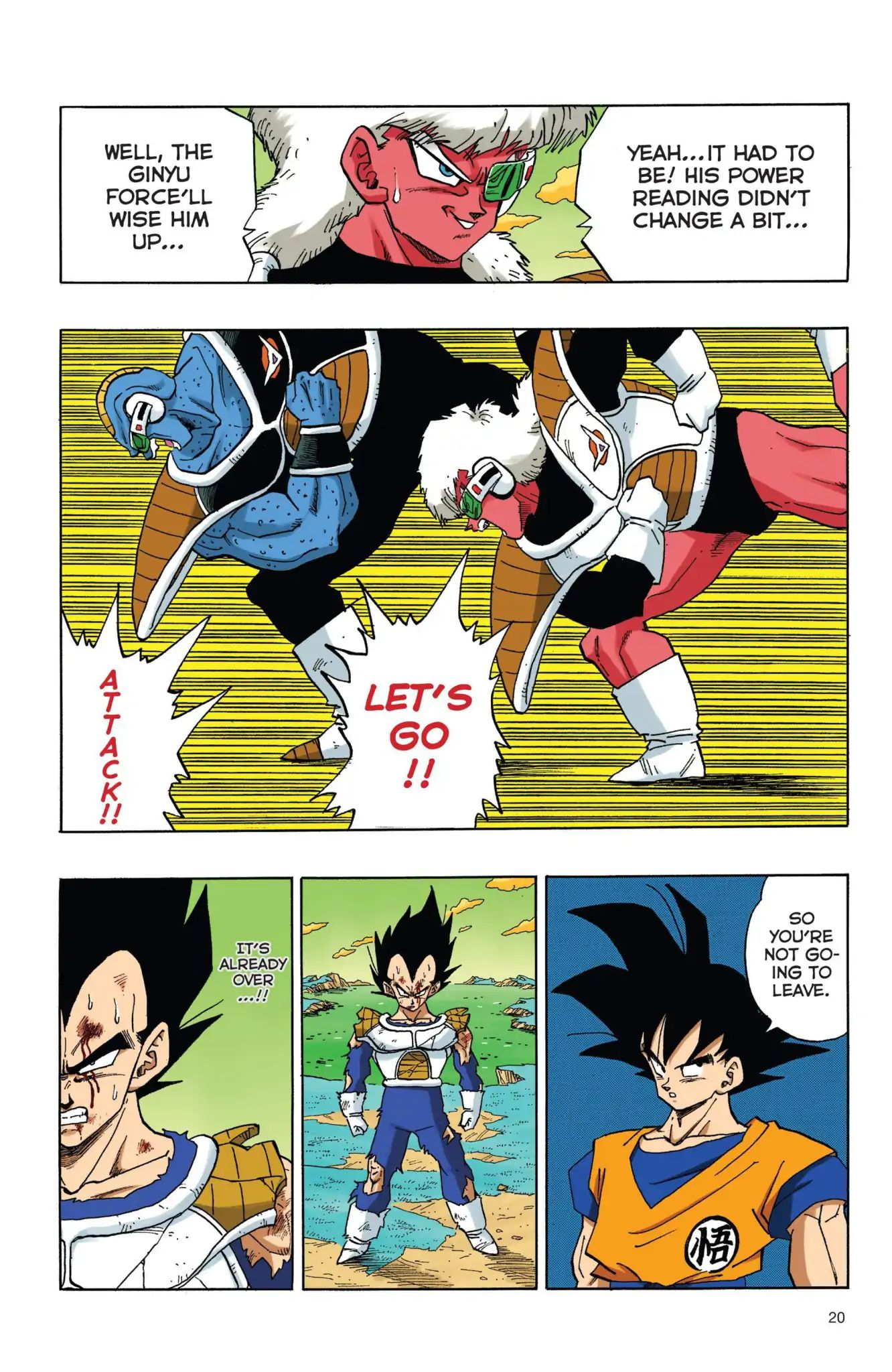 Dragon Ball Full Color Freeza Arc Chapter 36  Online Free Manga Read Image 3