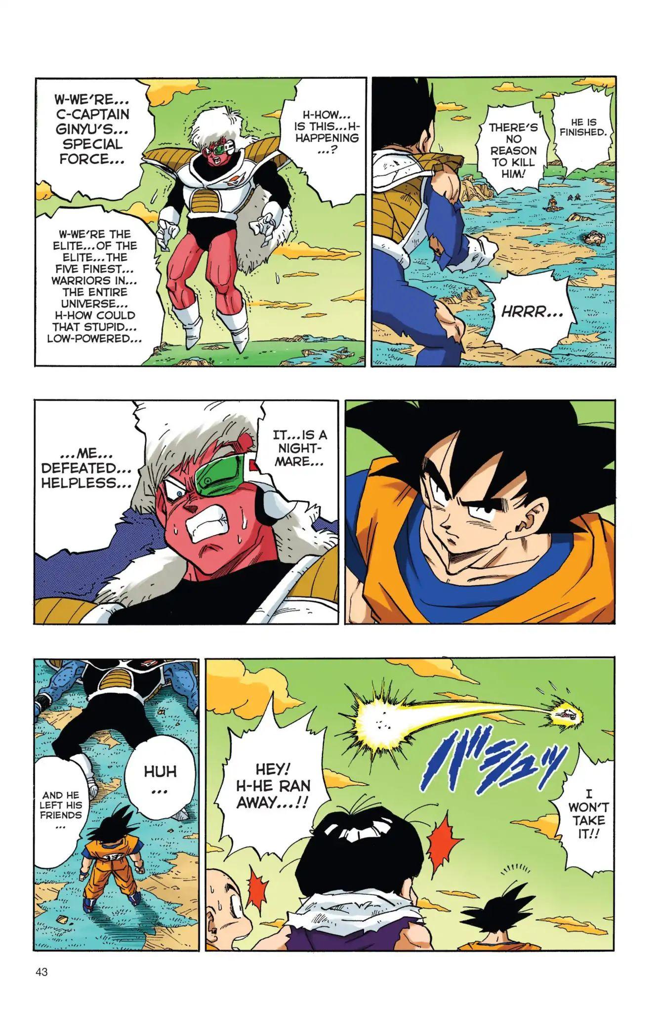 Dragon Ball Full Color Freeza Arc Chapter 37  Online Free Manga Read Image 11