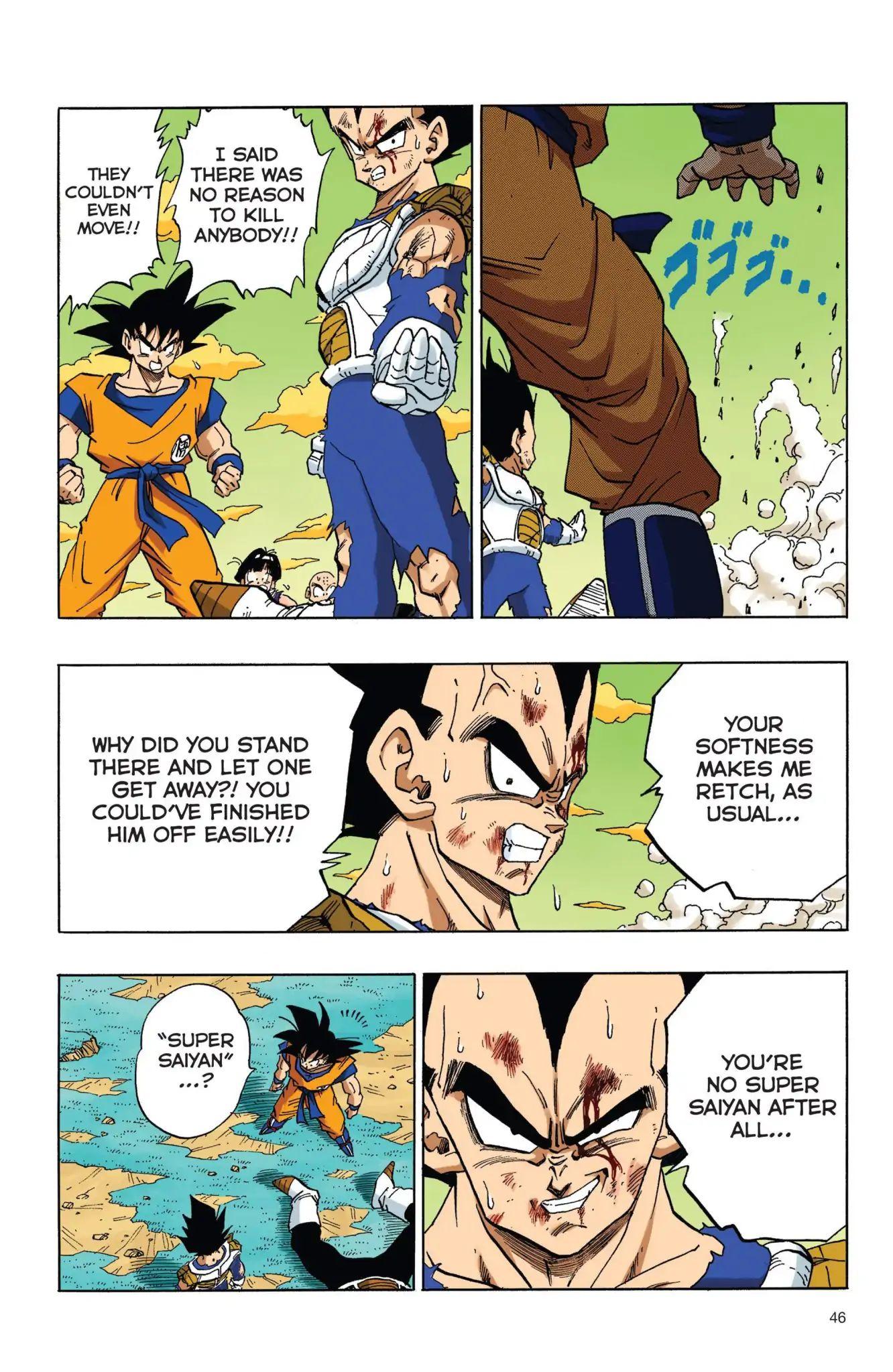 Dragon Ball Full Color Freeza Arc Chapter 37  Online Free Manga Read Image 14