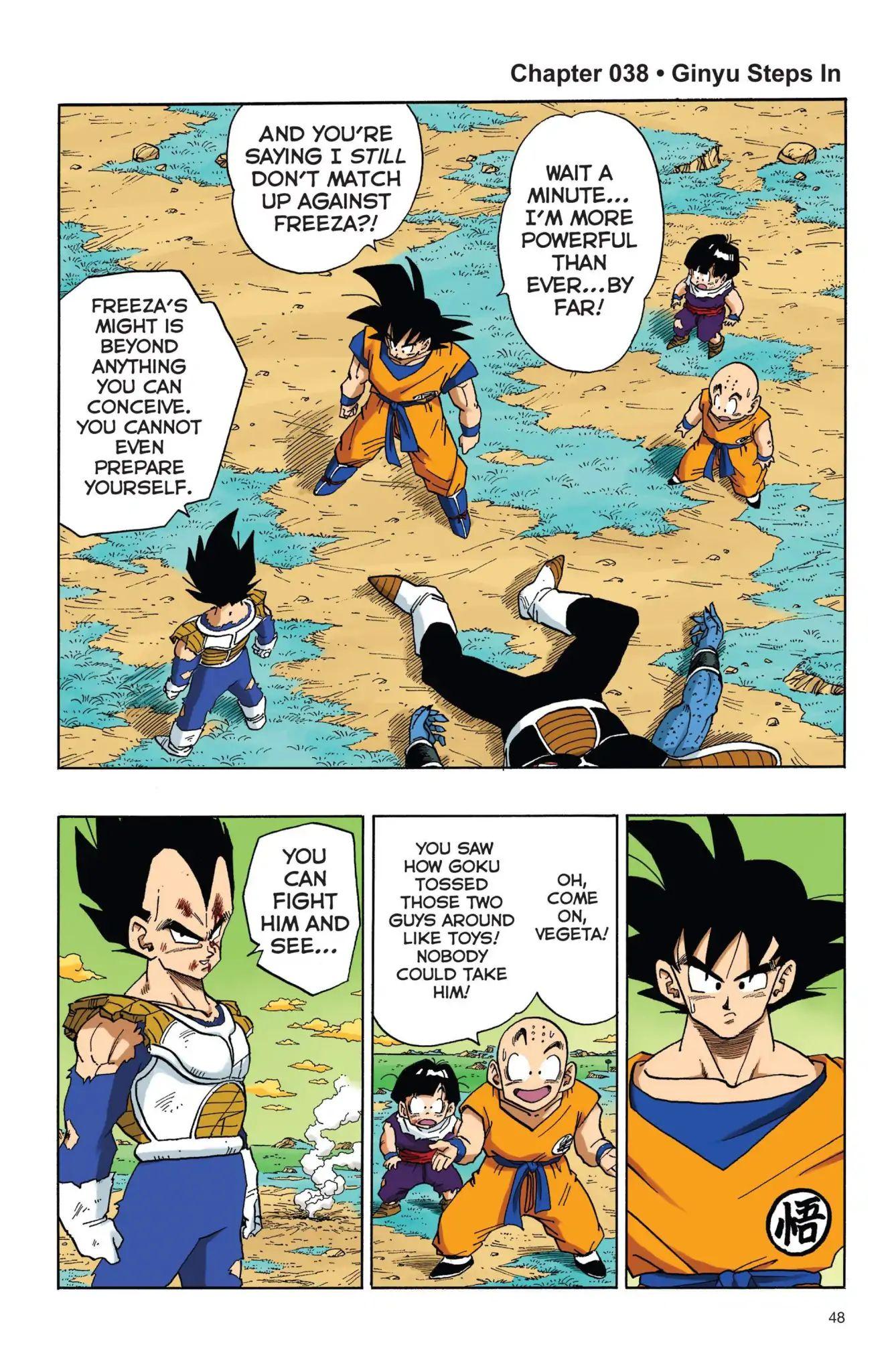 Dragon Ball Full Color Freeza Arc Chapter 38  Online Free Manga Read Image 1