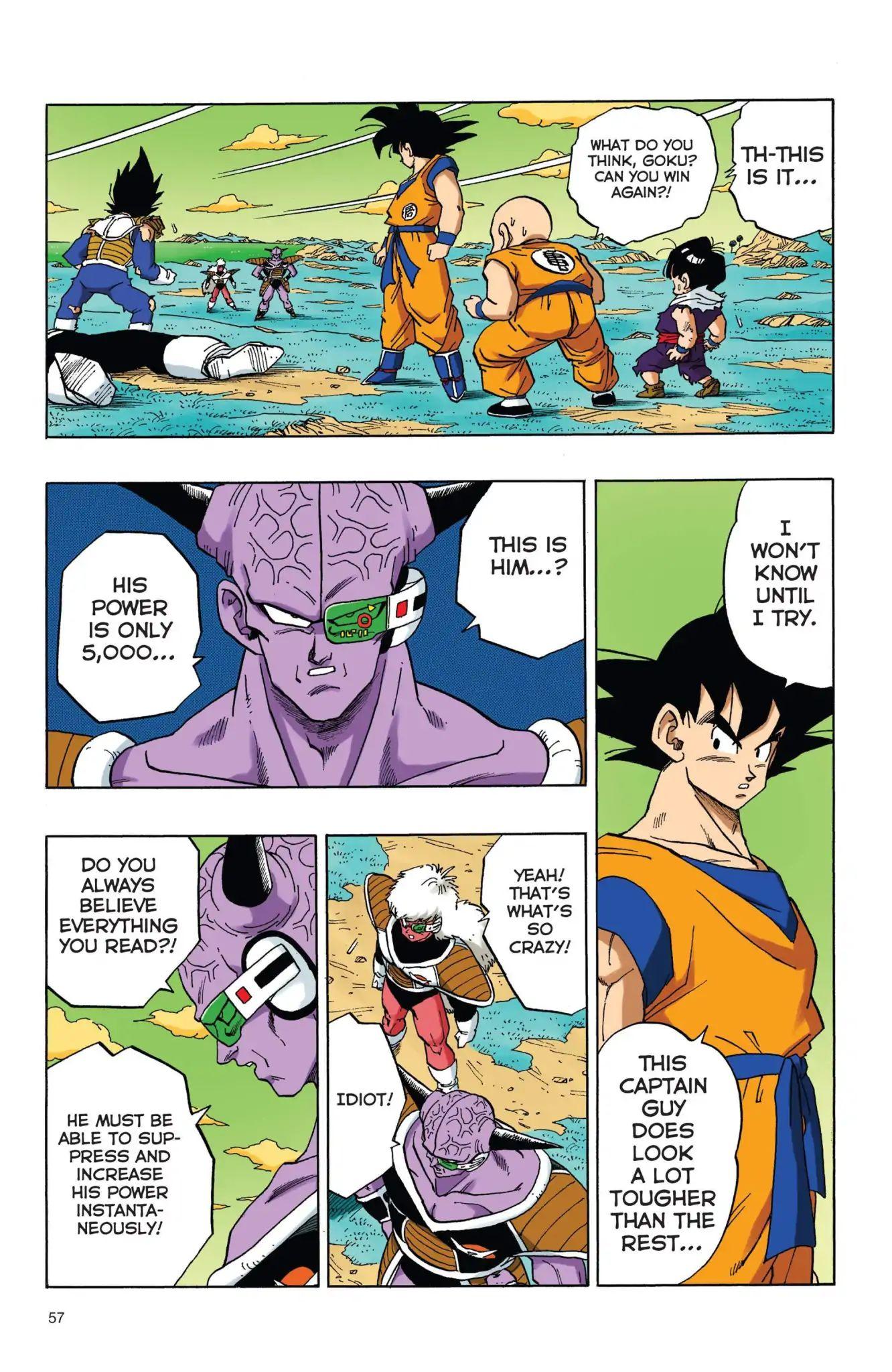 Dragon Ball Full Color Freeza Arc Chapter 38  Online Free Manga Read Image 10