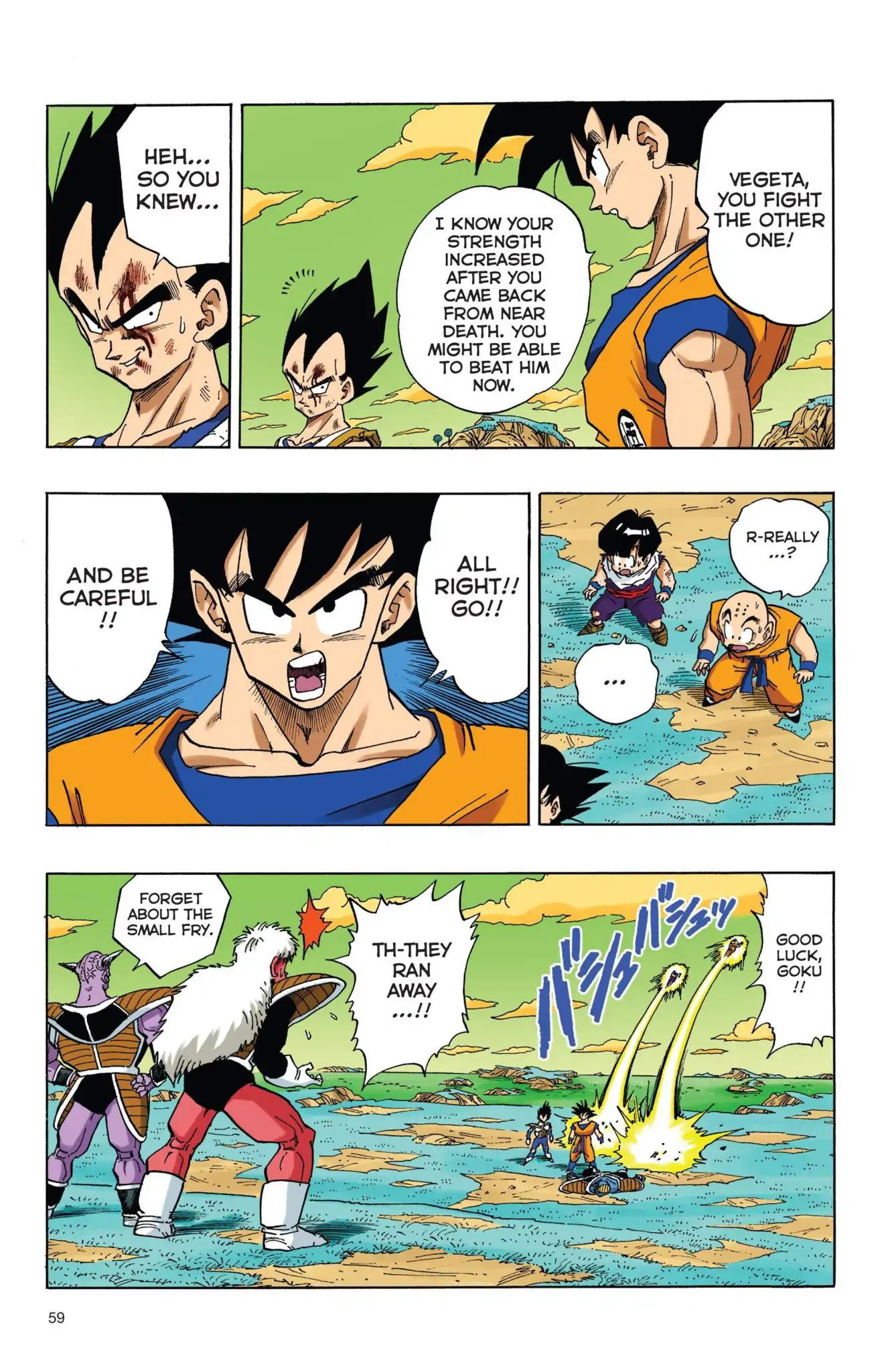 Dragon Ball Full Color Freeza Arc Chapter 38  Online Free Manga Read Image 12