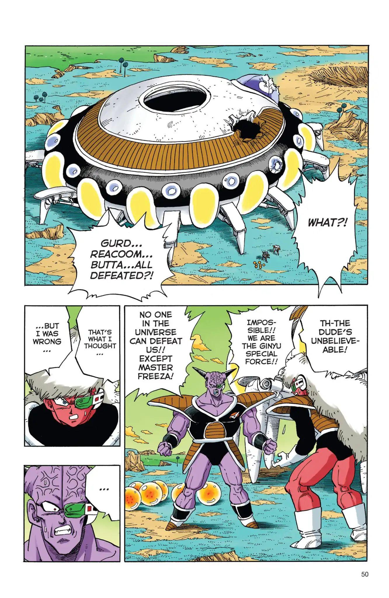 Dragon Ball Full Color Freeza Arc Chapter 38  Online Free Manga Read Image 3