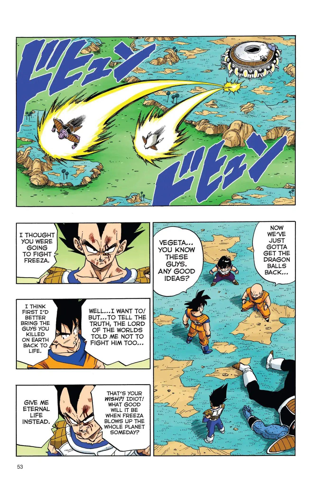 Dragon Ball Full Color Freeza Arc Chapter 38  Online Free Manga Read Image 6