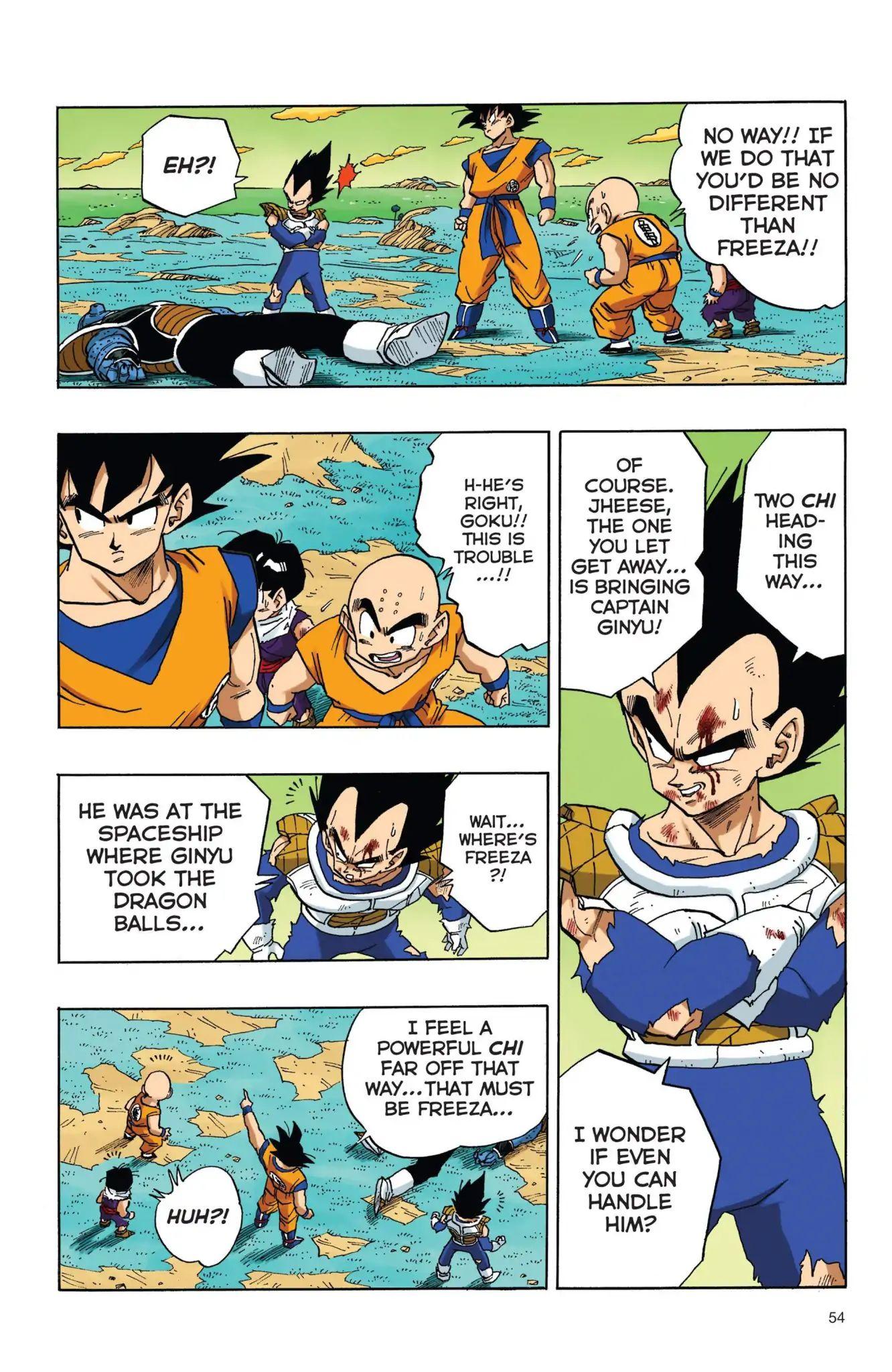 Dragon Ball Full Color Freeza Arc Chapter 38  Online Free Manga Read Image 7