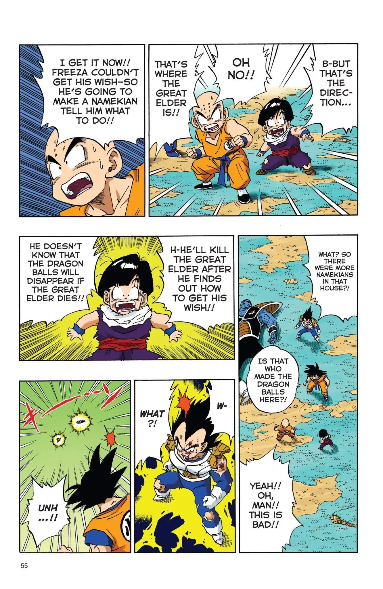 Dragon Ball Full Color Freeza Arc Chapter 38  Online Free Manga Read Image 8