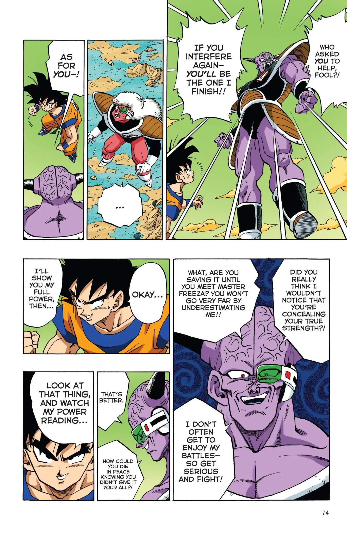 Dragon Ball Full Color Freeza Arc Chapter 39  Online Free Manga Read Image 13