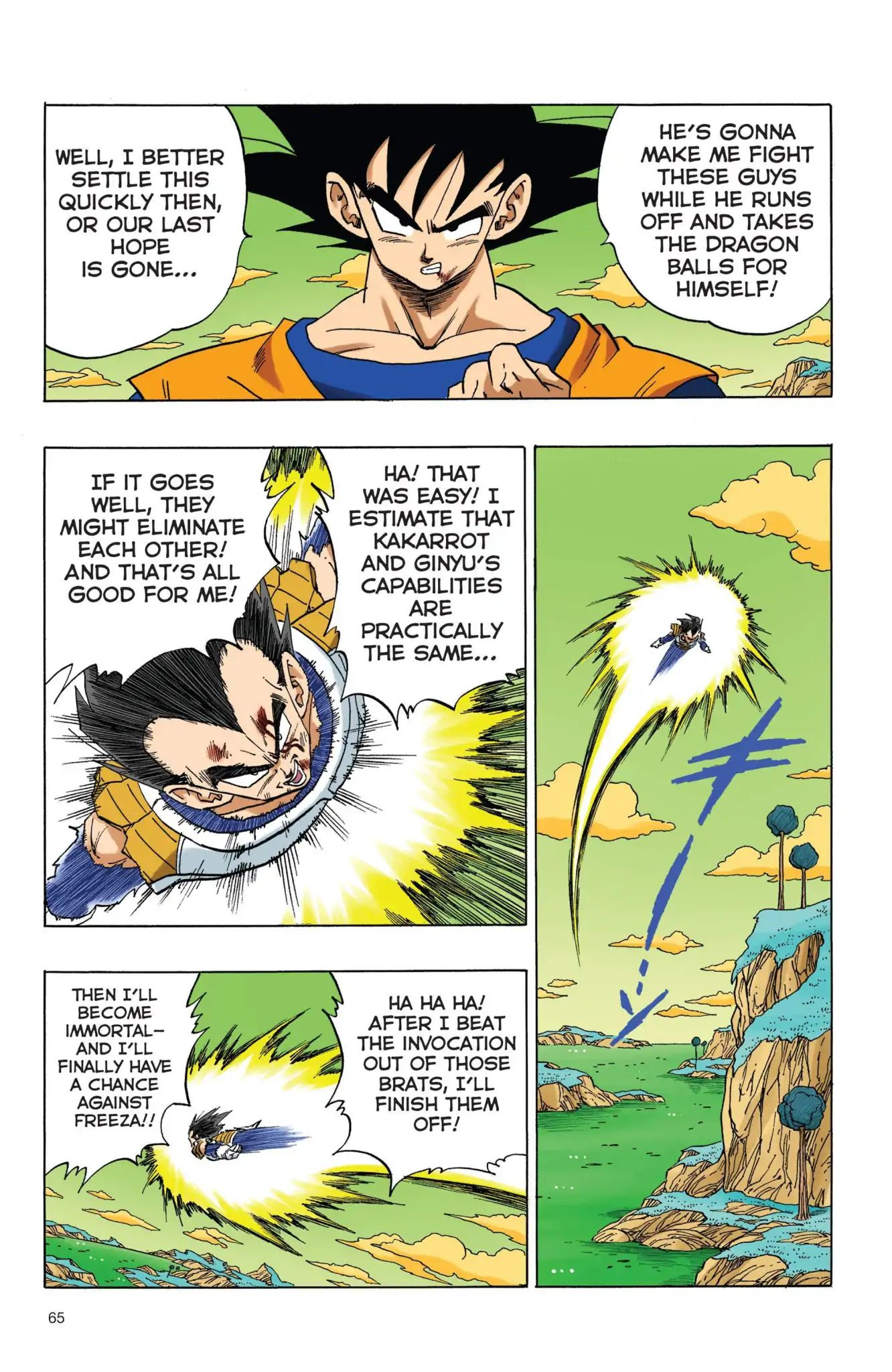 Dragon Ball Full Color Freeza Arc Chapter 39  Online Free Manga Read Image 4