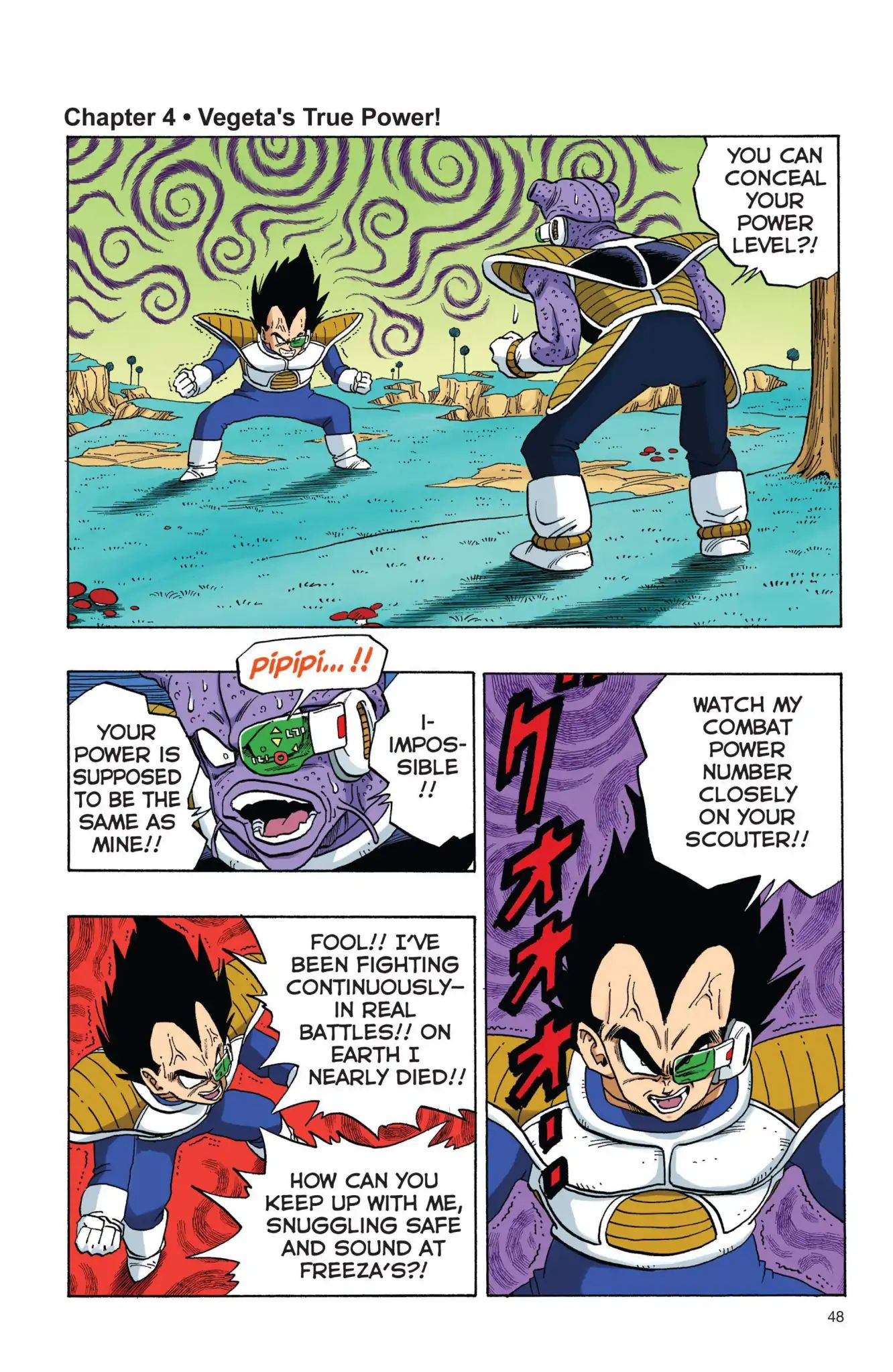 Dragon Ball Full Color Freeza Arc Chapter 4  Online Free Manga Read Image 1
