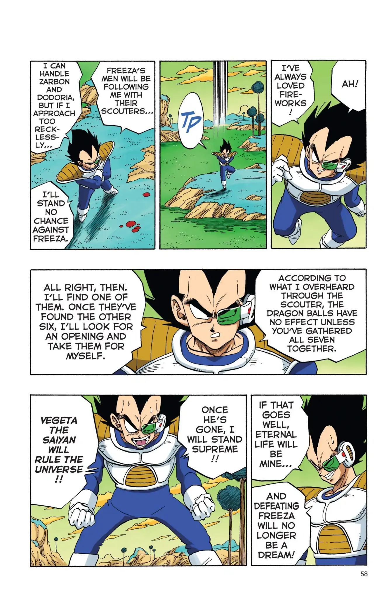 Dragon Ball Full Color Freeza Arc Chapter 4  Online Free Manga Read Image 11