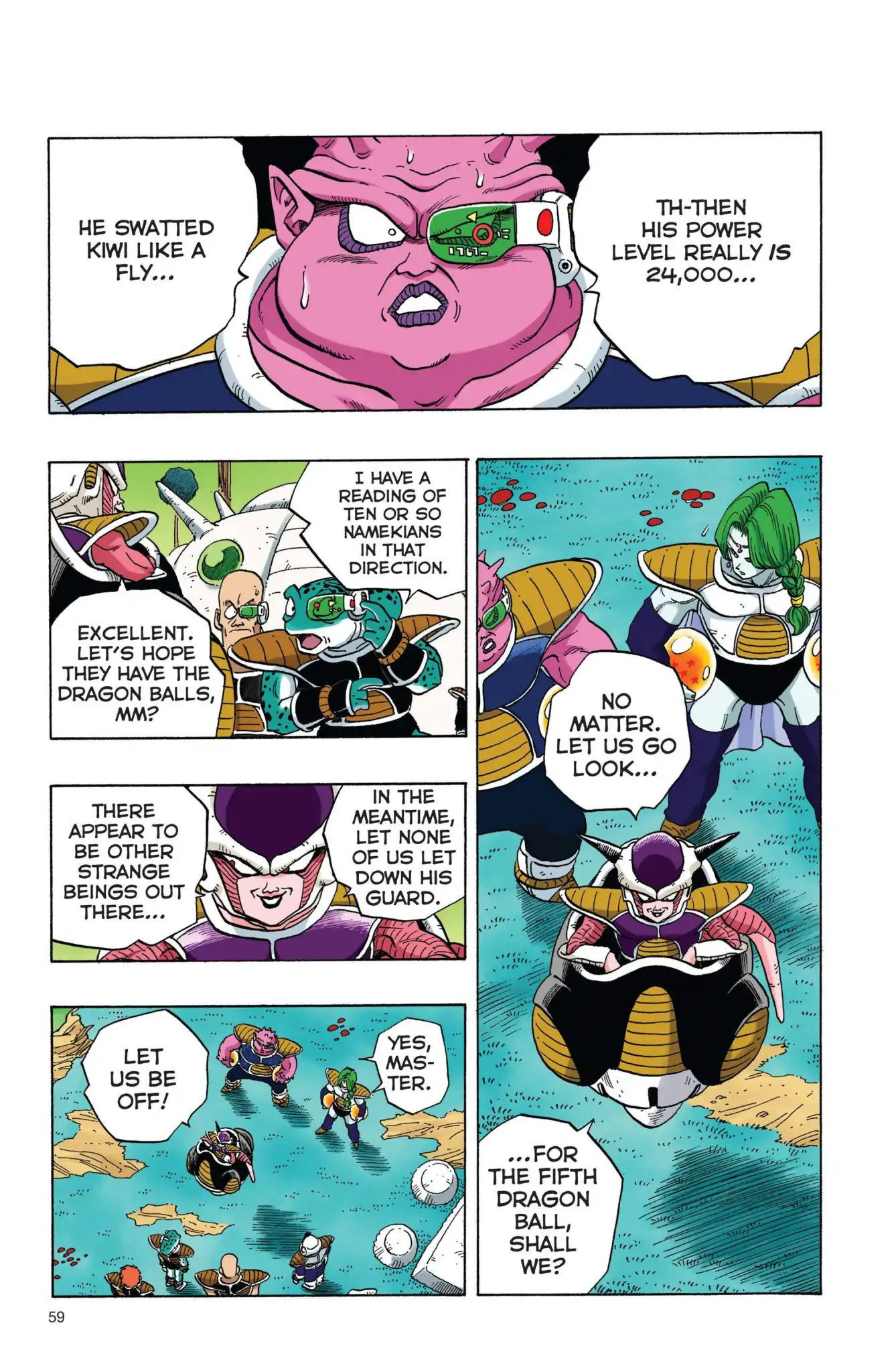 Dragon Ball Full Color Freeza Arc Chapter 4  Online Free Manga Read Image 12
