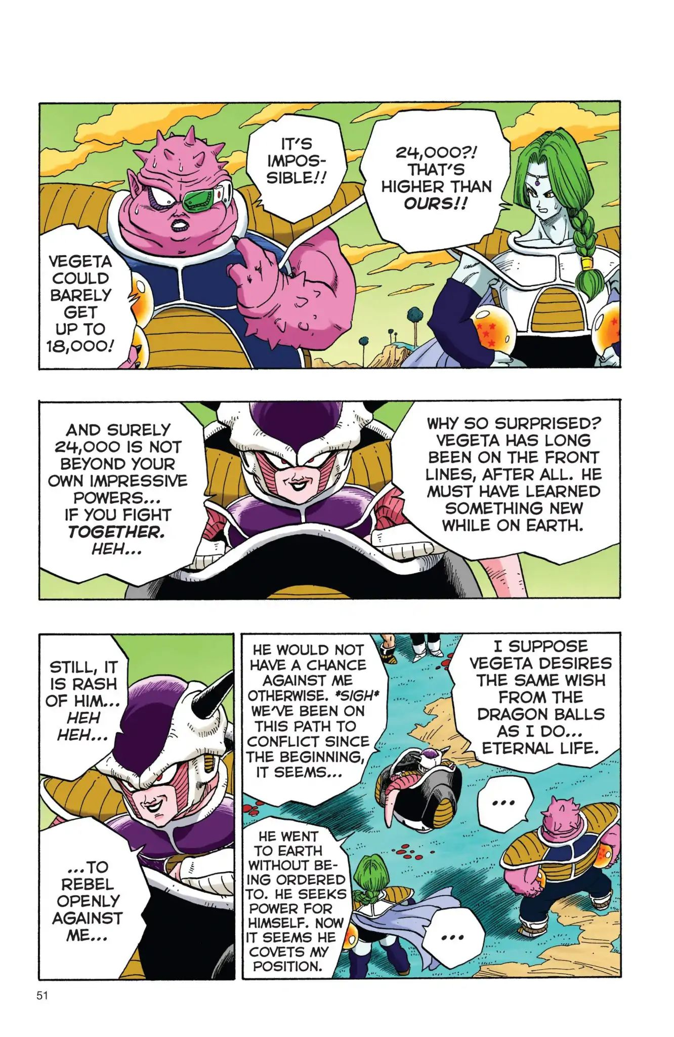 Dragon Ball Full Color Freeza Arc Chapter 4  Online Free Manga Read Image 4