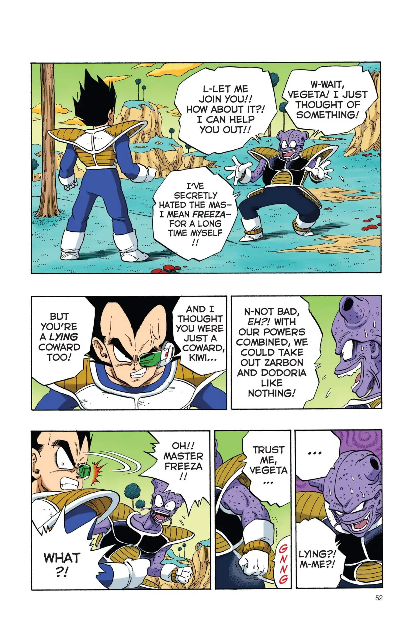 Dragon Ball Full Color Freeza Arc Chapter 4  Online Free Manga Read Image 5