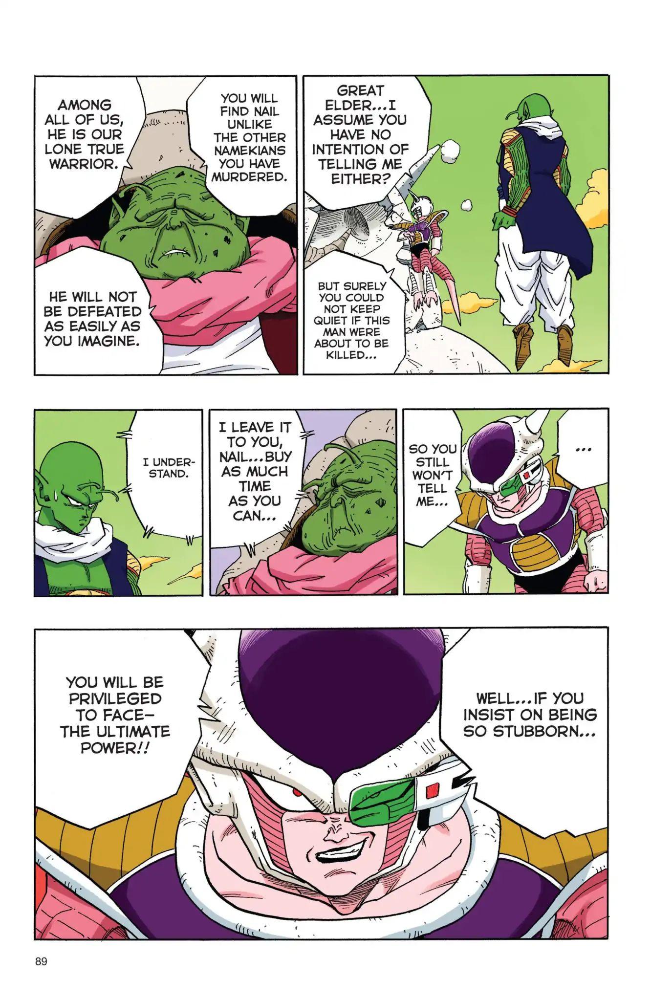 Dragon Ball Full Color Freeza Arc Chapter 40  Online Free Manga Read Image 14