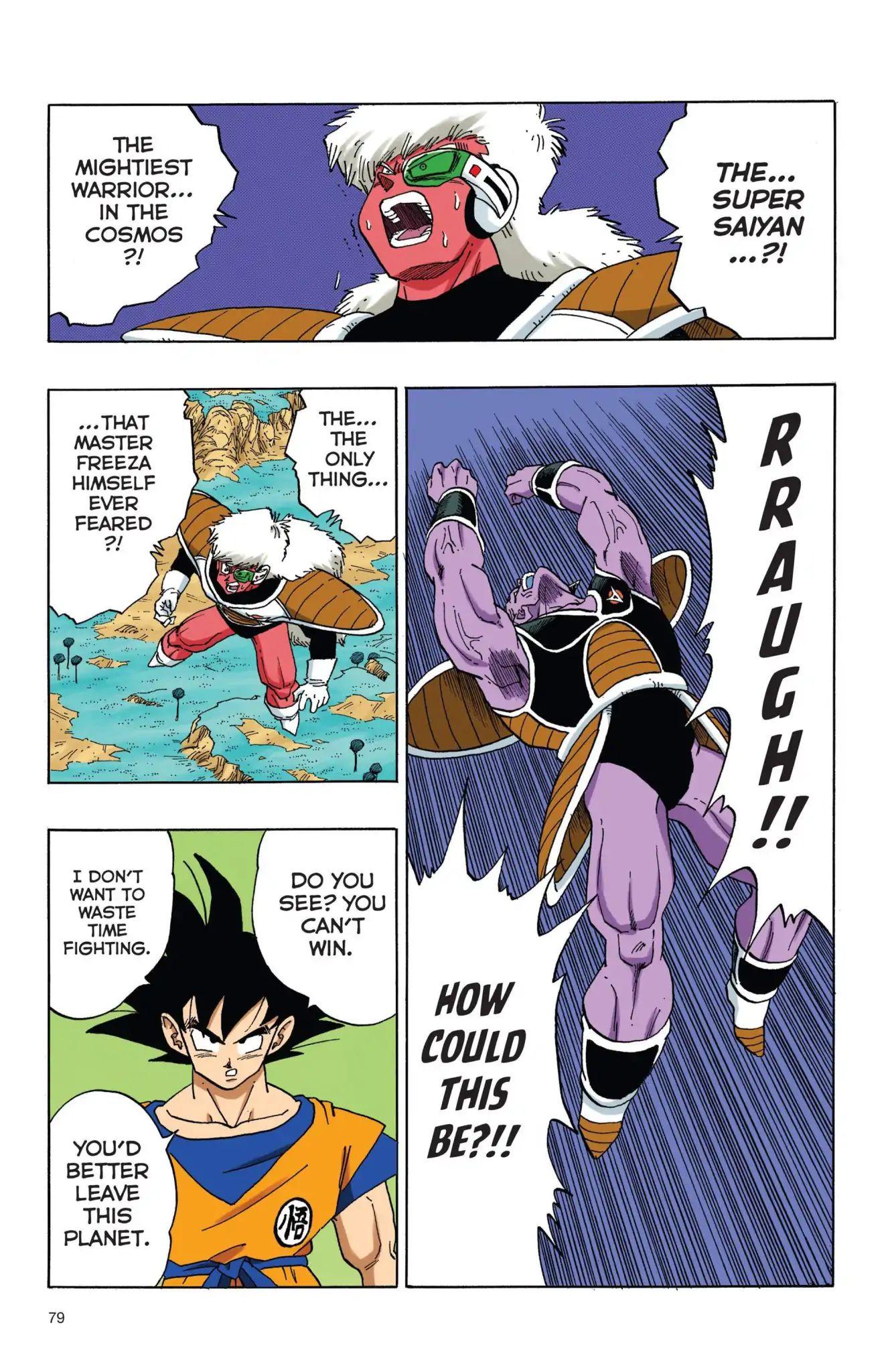 Dragon Ball Full Color Freeza Arc Chapter 40  Online Free Manga Read Image 4